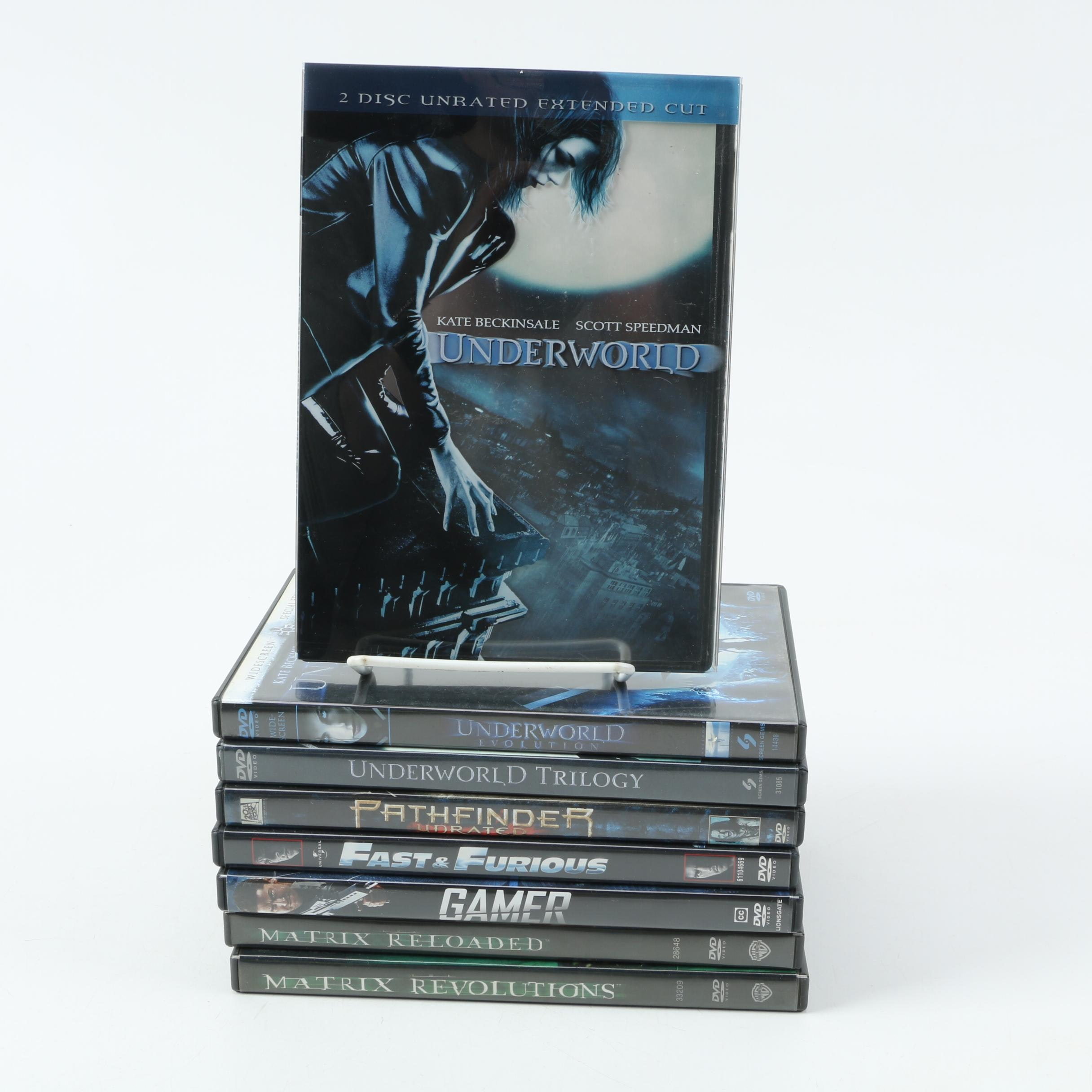 Collection of Eight DVDs