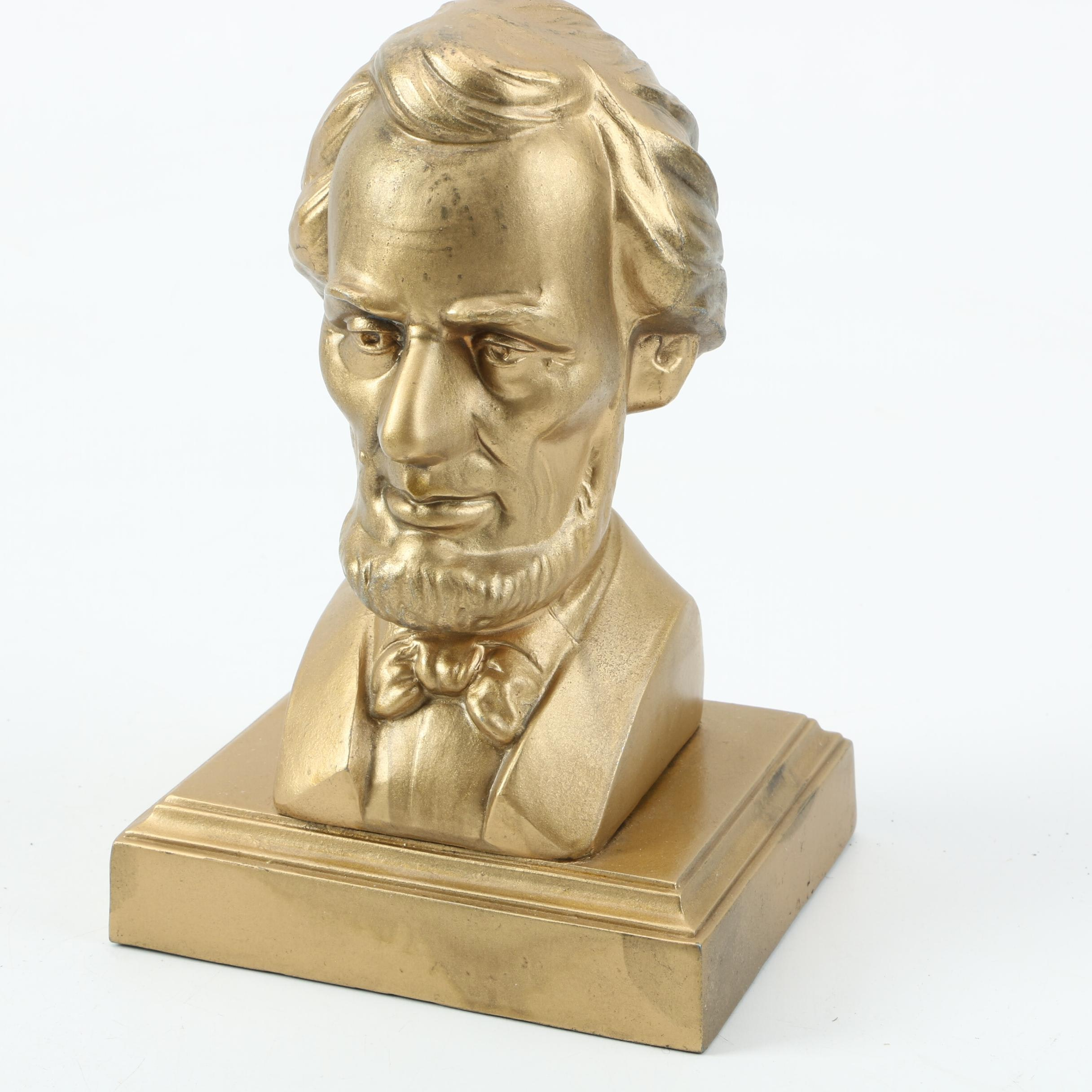 Abraham Lincoln Metal Bust