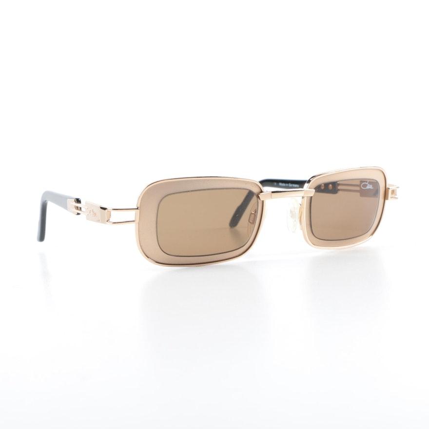 aa2936b14563 Vintage Cazal Gold Tone Frame Sunglasses
