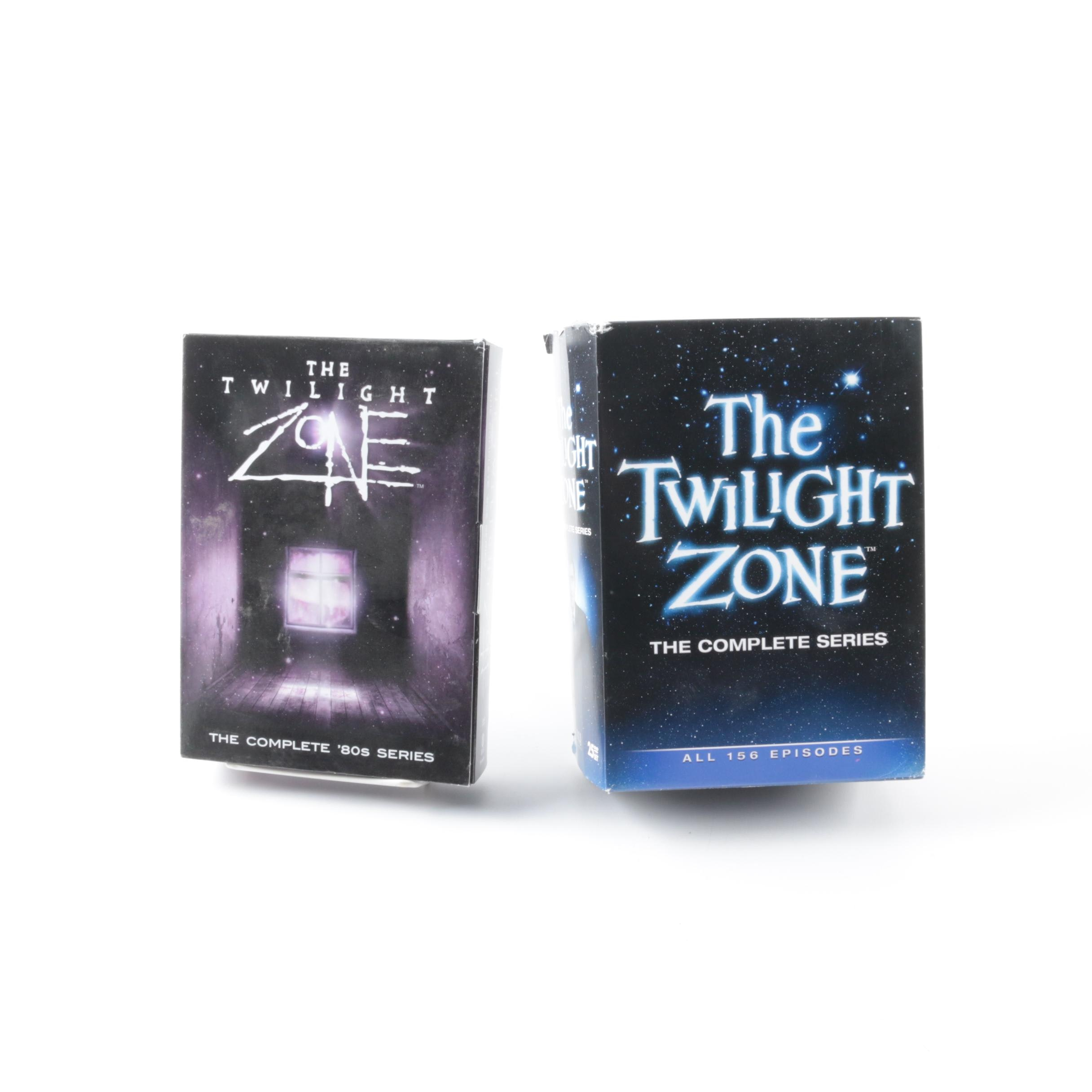 """""""The Twilight Zone"""" Complete Original and 1980 Series on DVD"""