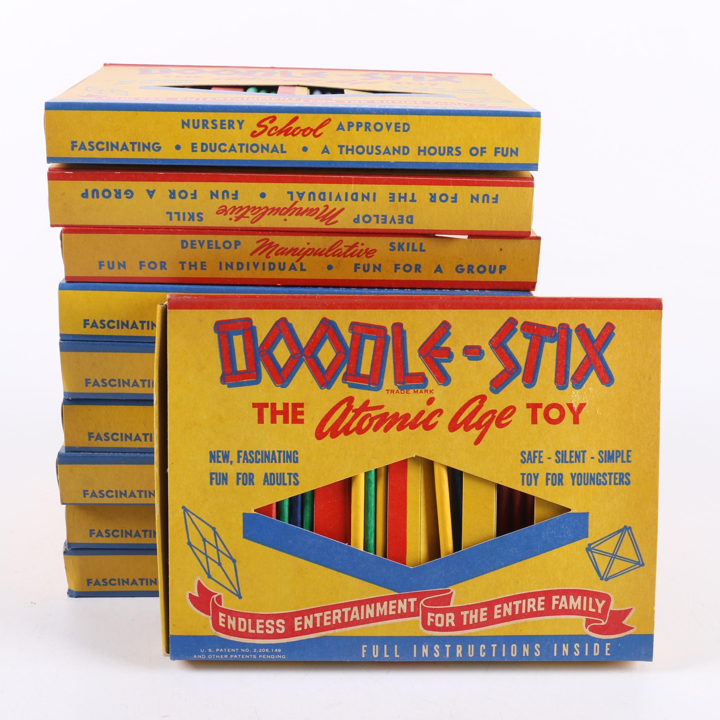 1940s Doodle Stix Toys
