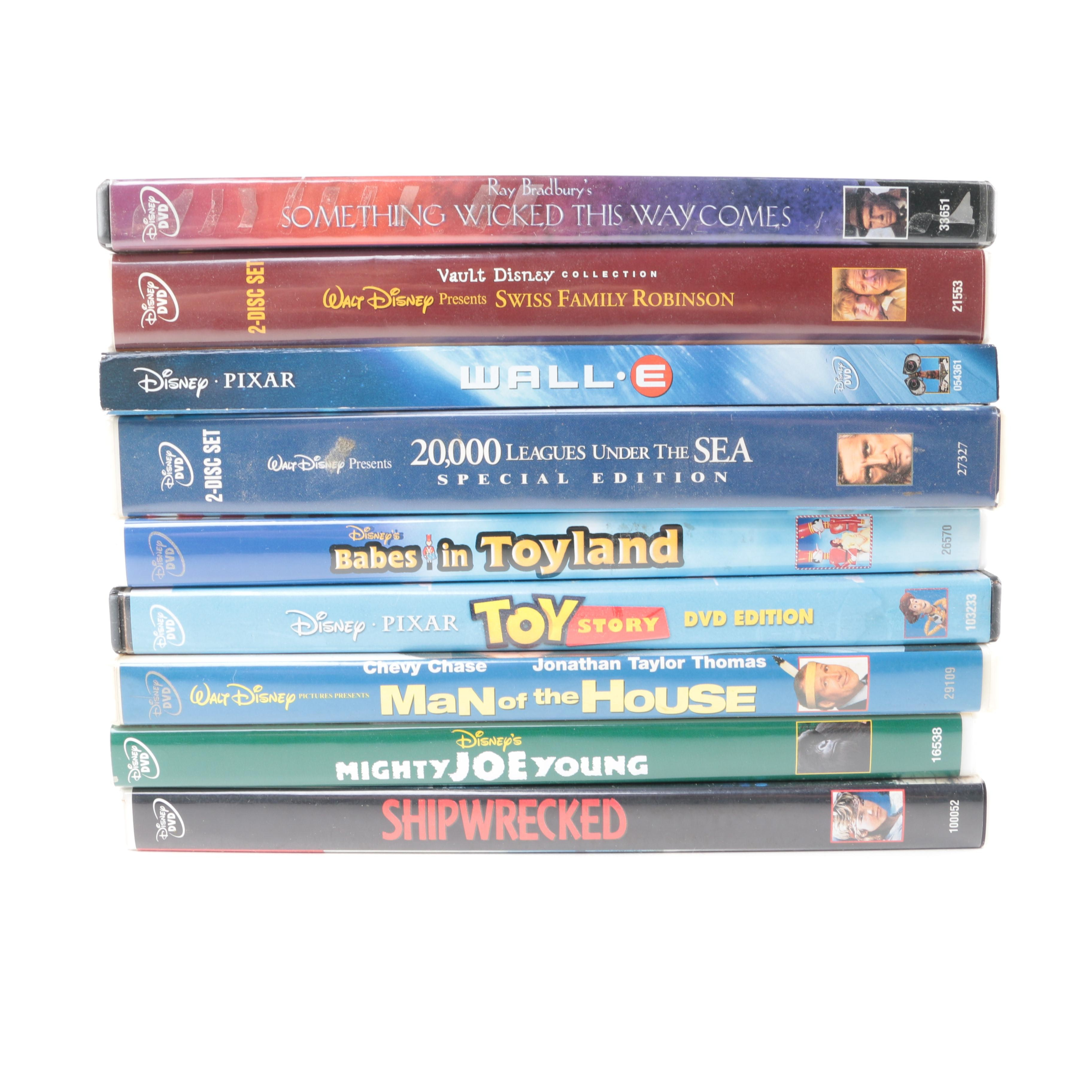 """""""WALL-E"""", """"Toy Story"""" and Other Disney Adventure DVDs"""