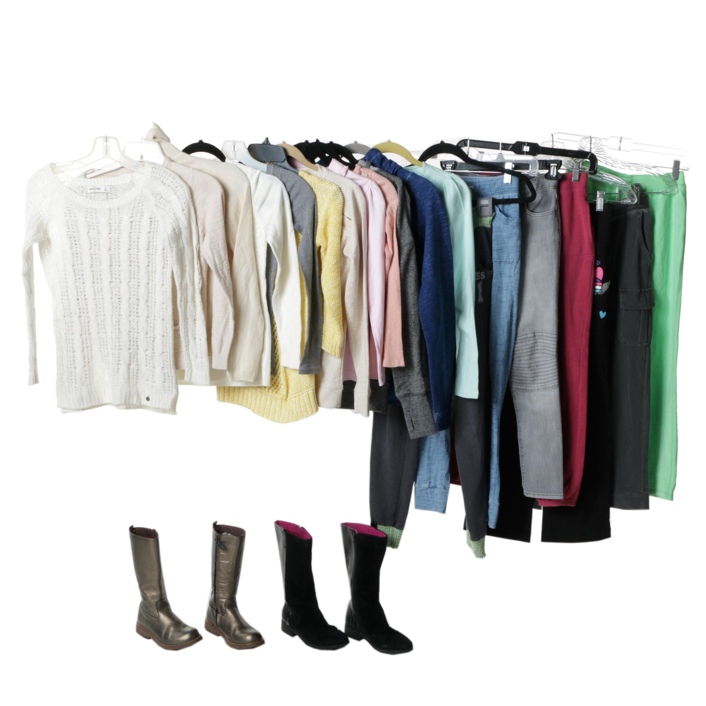 Girls' Clothing and Footwear Including GapKids and Abercrombie Kids