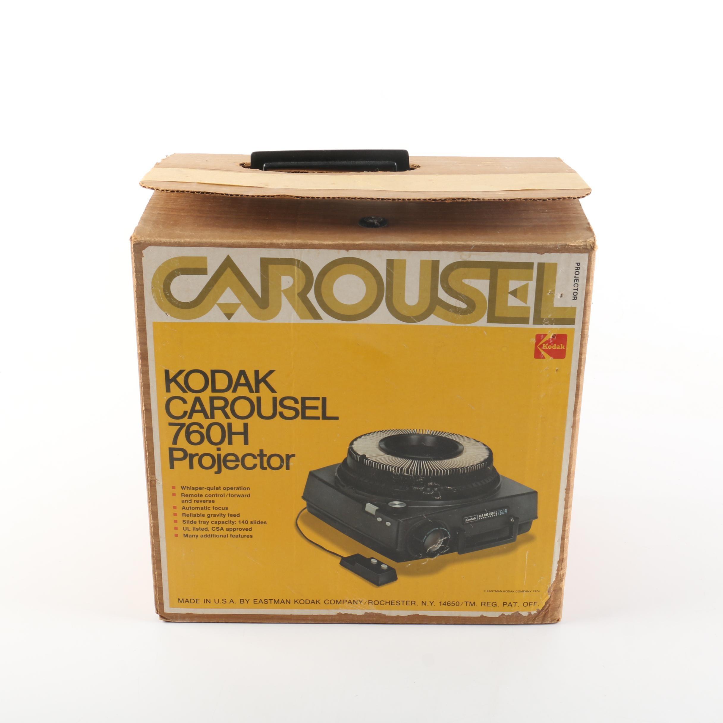 Vintage Kodak Carousel 760H Projector