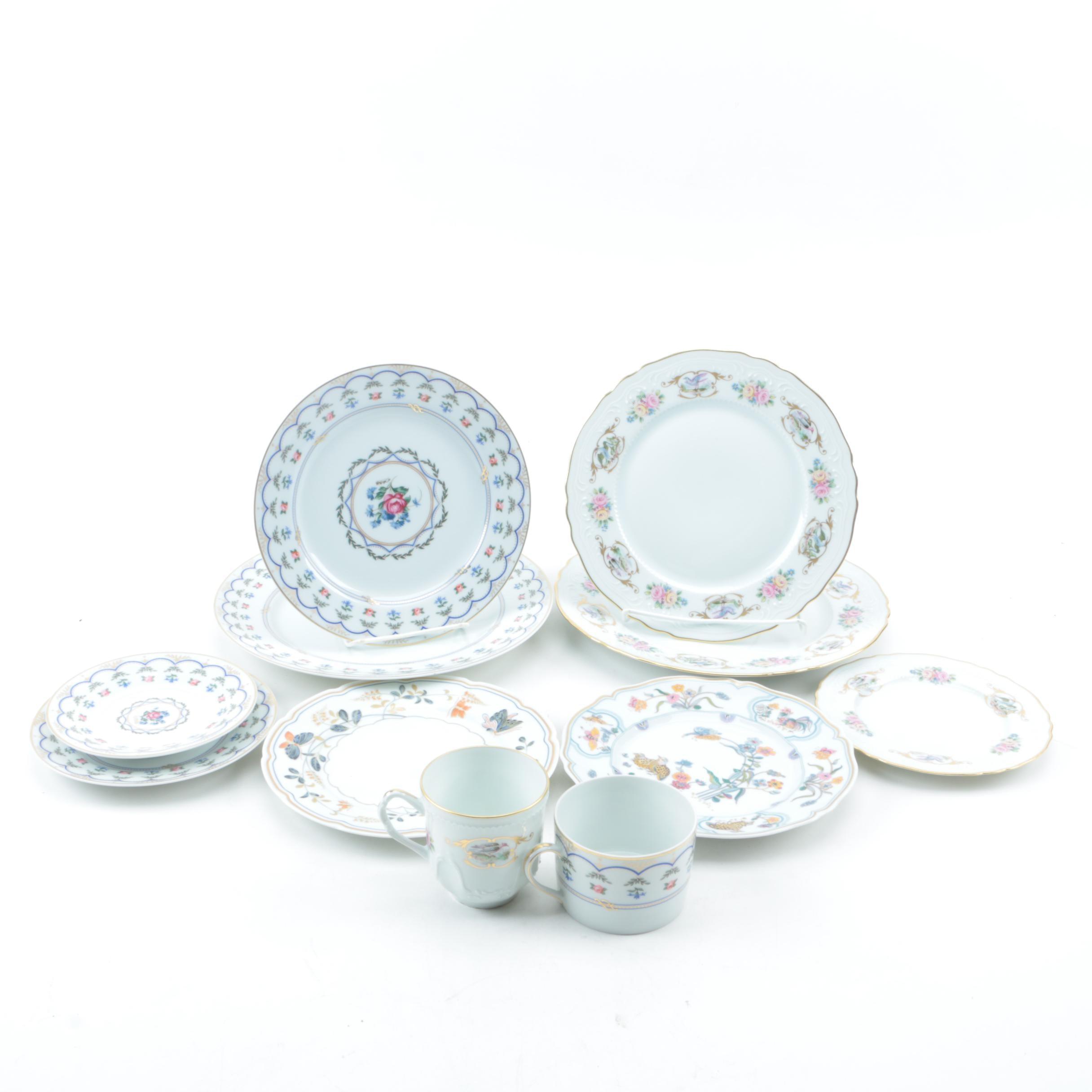 Ancienne Manufacture Royal Limoges Porcelain Tableware