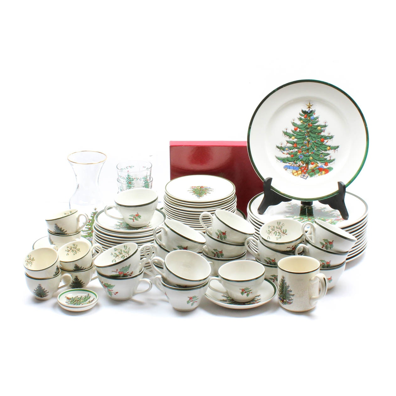 Cuthbertson  Original Christmas Tree  Porcelain Tableware ...  sc 1 st  EBTH.com & Cuthbertson