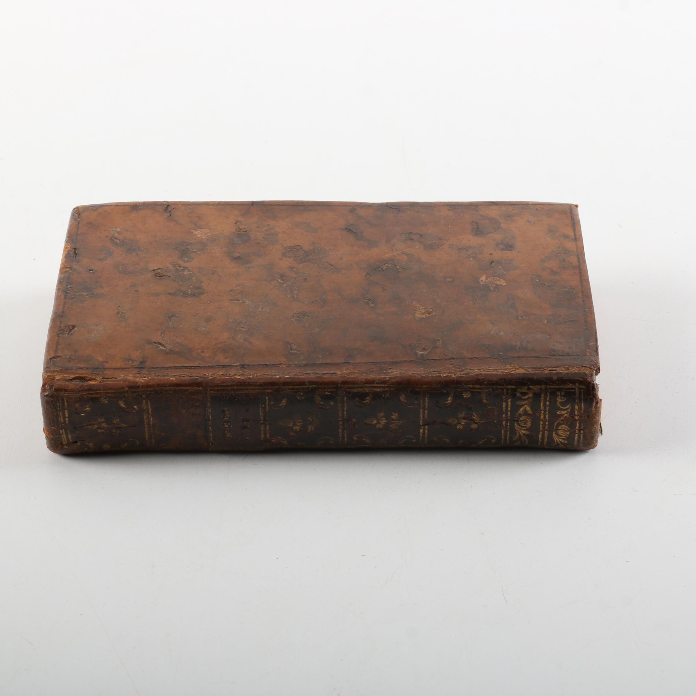 "1760 ""Œuvres de J. Racine"" Volume Two"