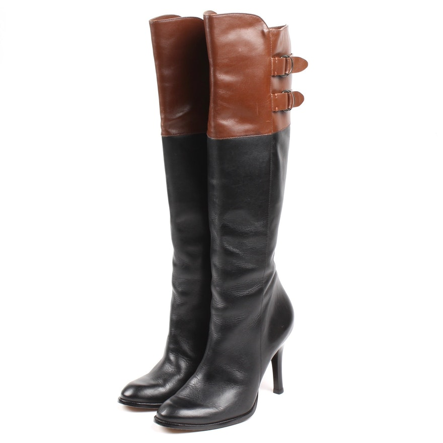 Cole Haan Women s High Heel Tall Boots With Nike Air Soles   EBTH 1be9c62dd