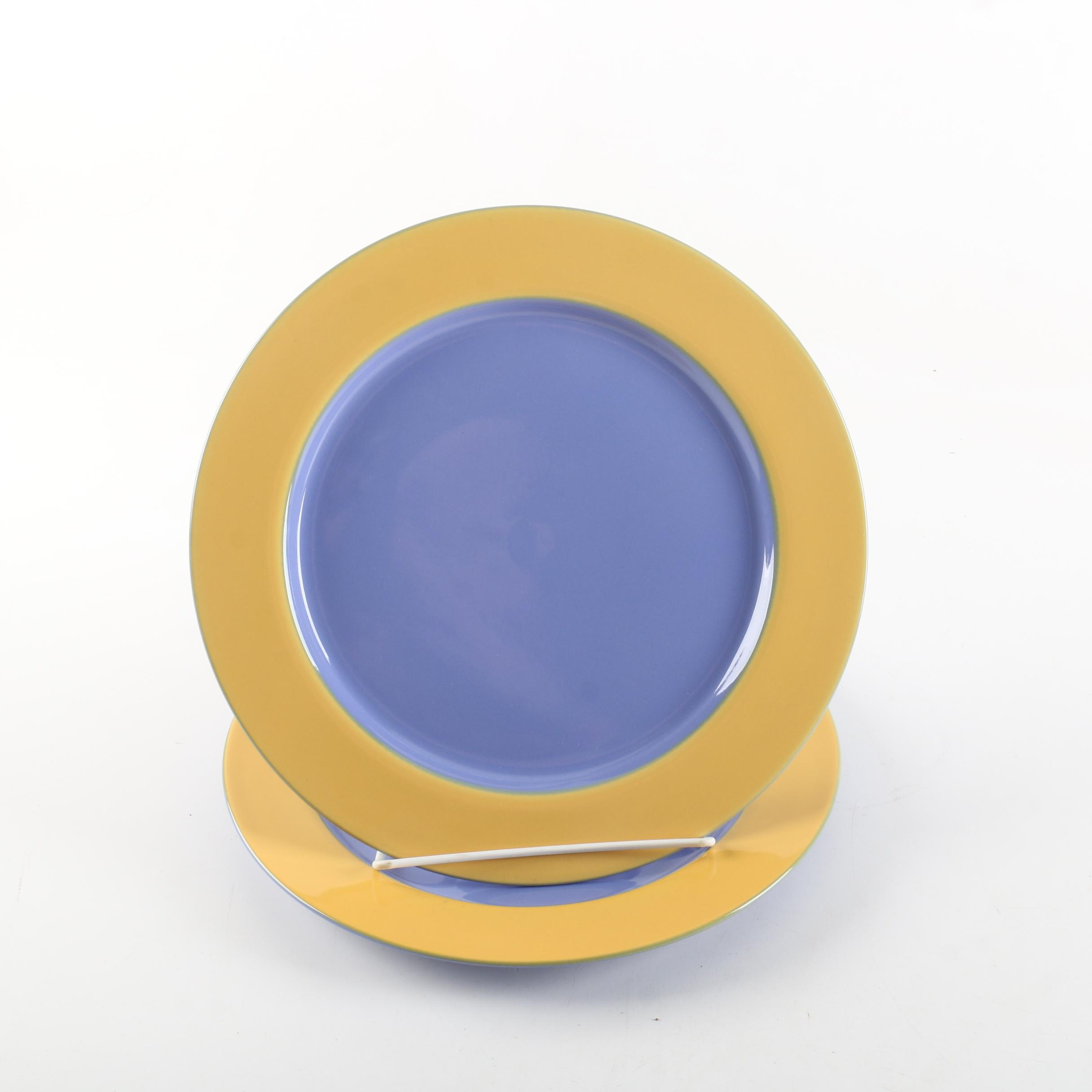 "Lindt Stymeist ""Colorways"" Ceramic Plates"