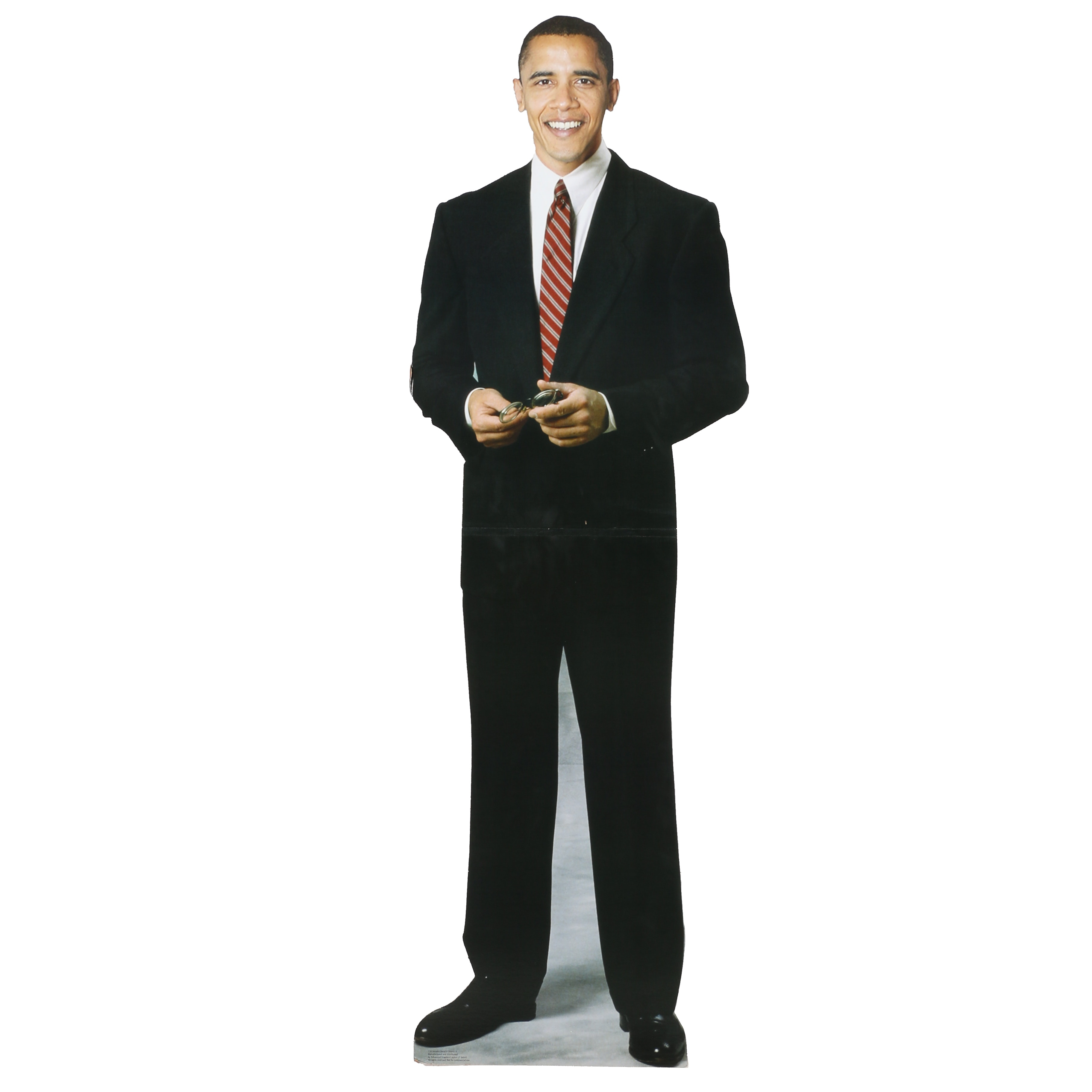 Life-Size Cardboard Cutout of Barack Obama