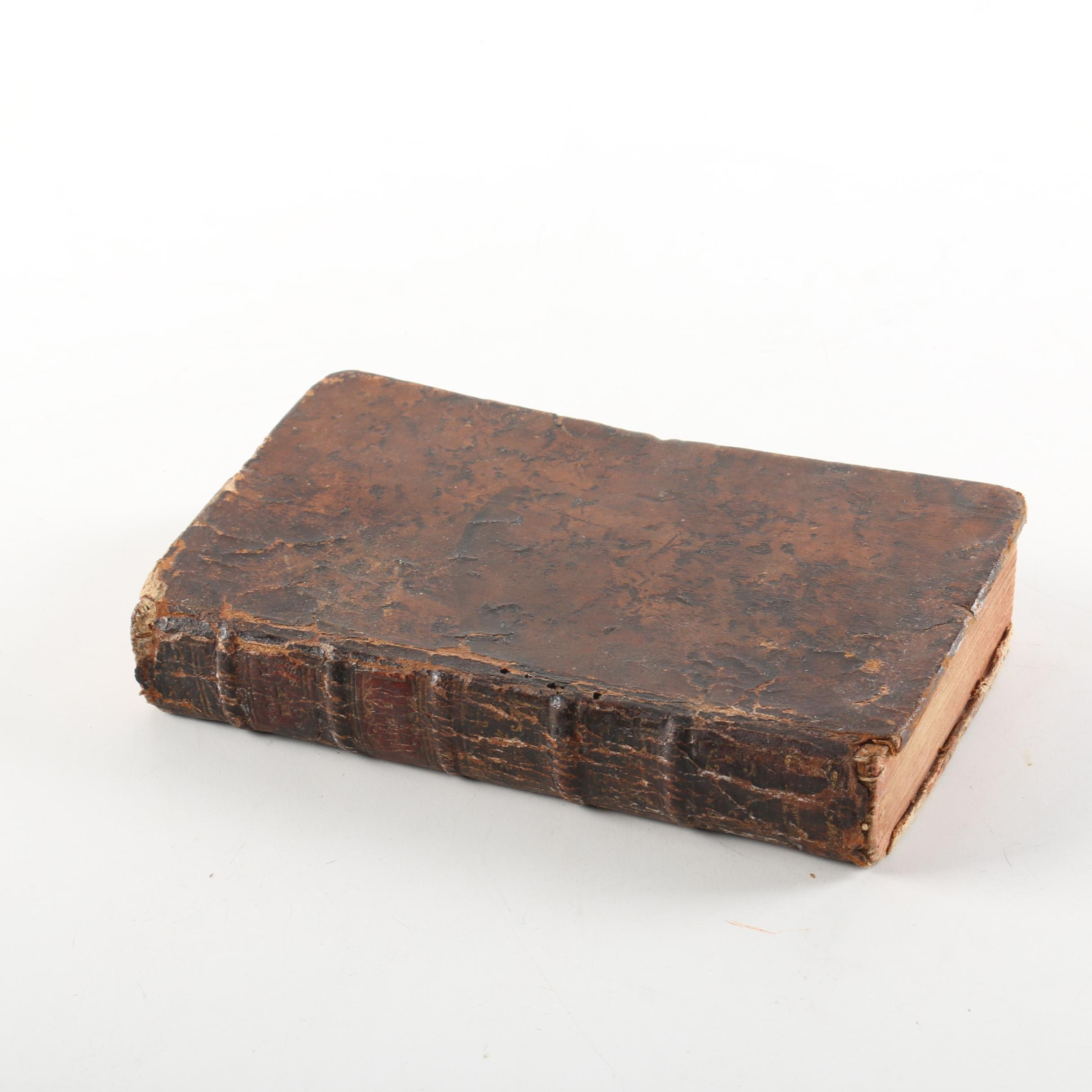 "1770 ""Emile, ou, De L'Éducation"" by Jean-Jacques Rousseau, Volume 1"