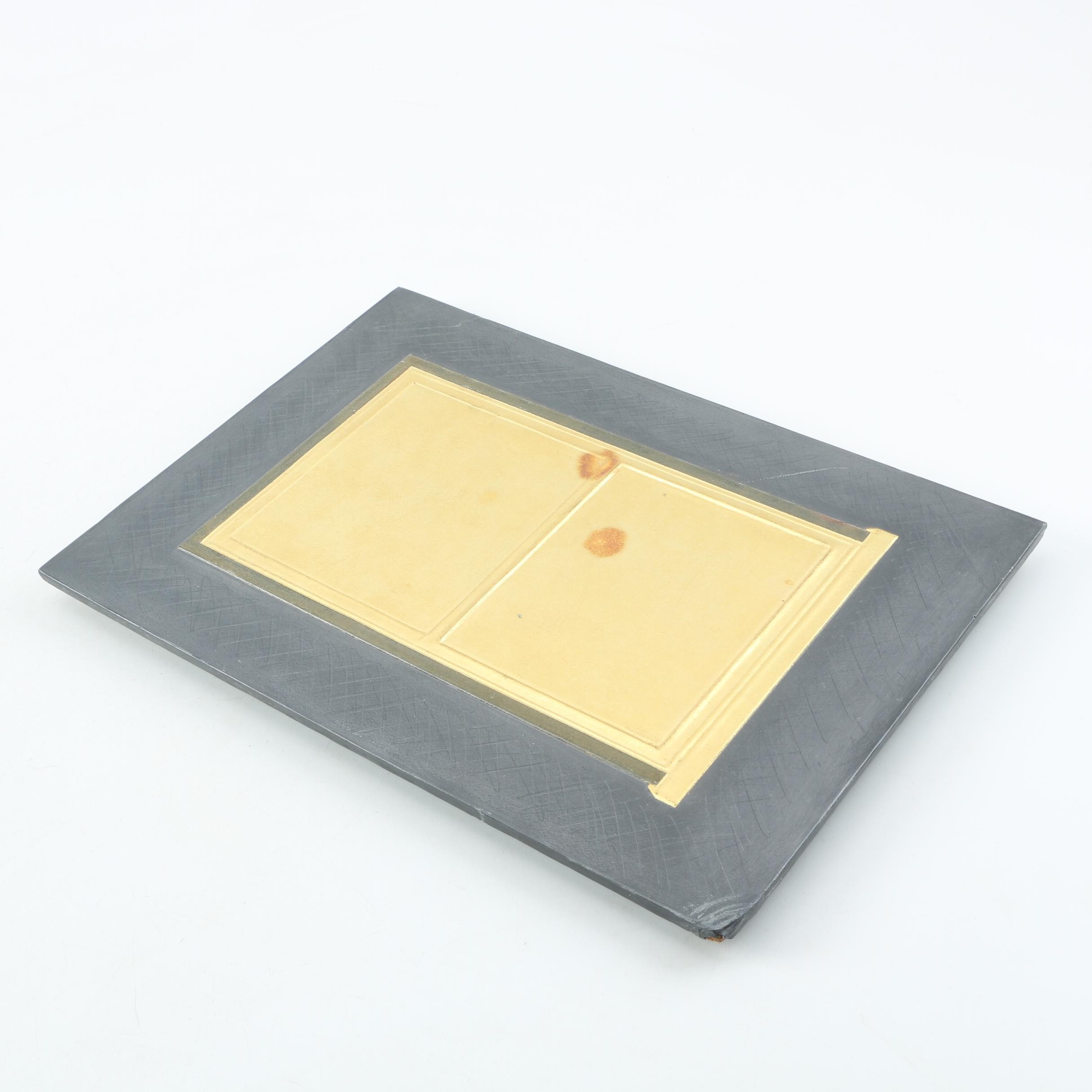 Wooden Tray with Cloth Cover