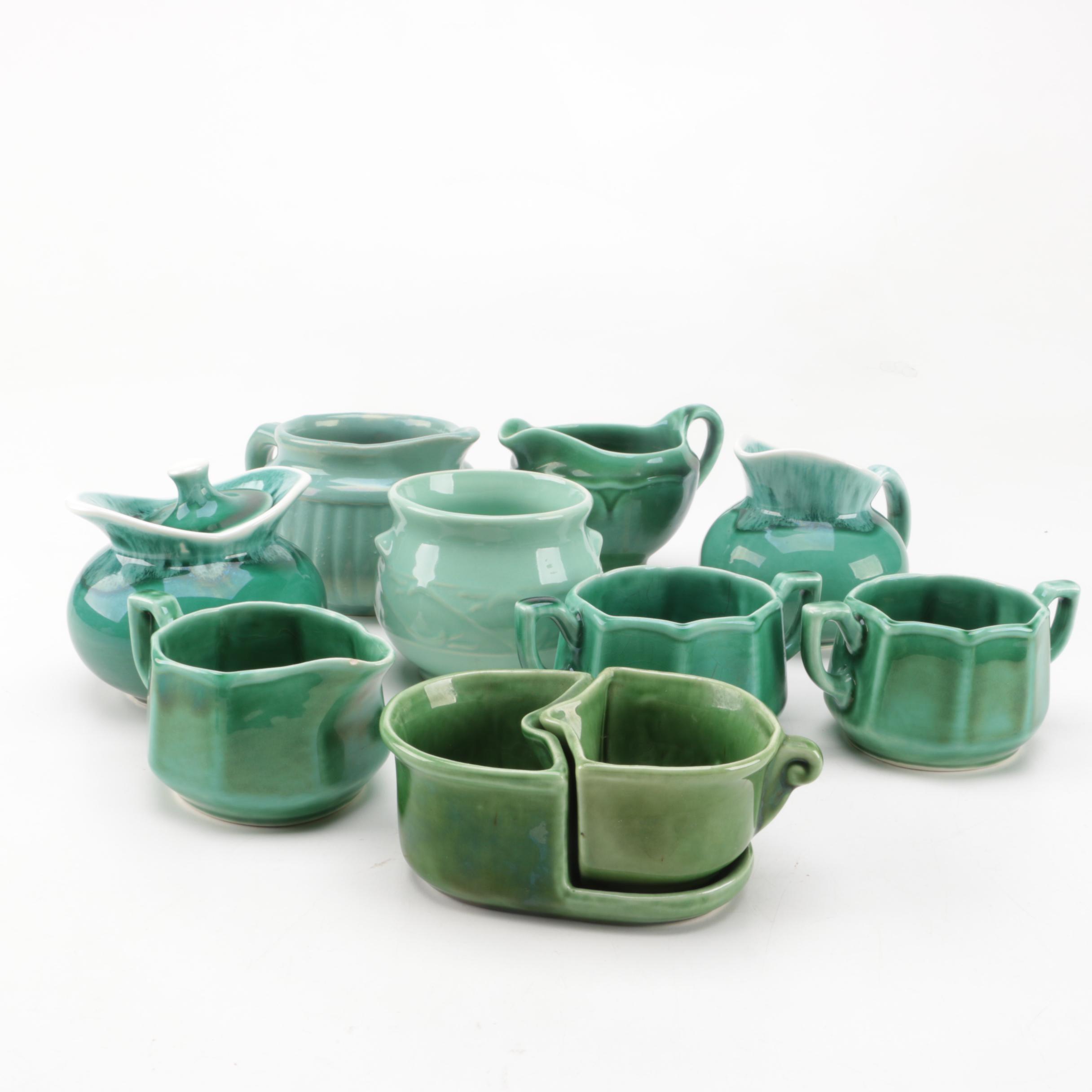 Green USA Ceramic Pottery