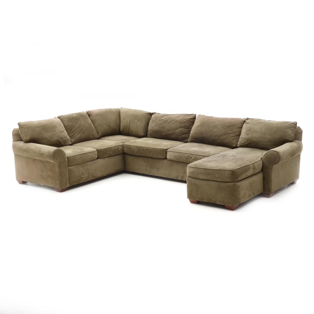 Green Sectional Sofa EBTH