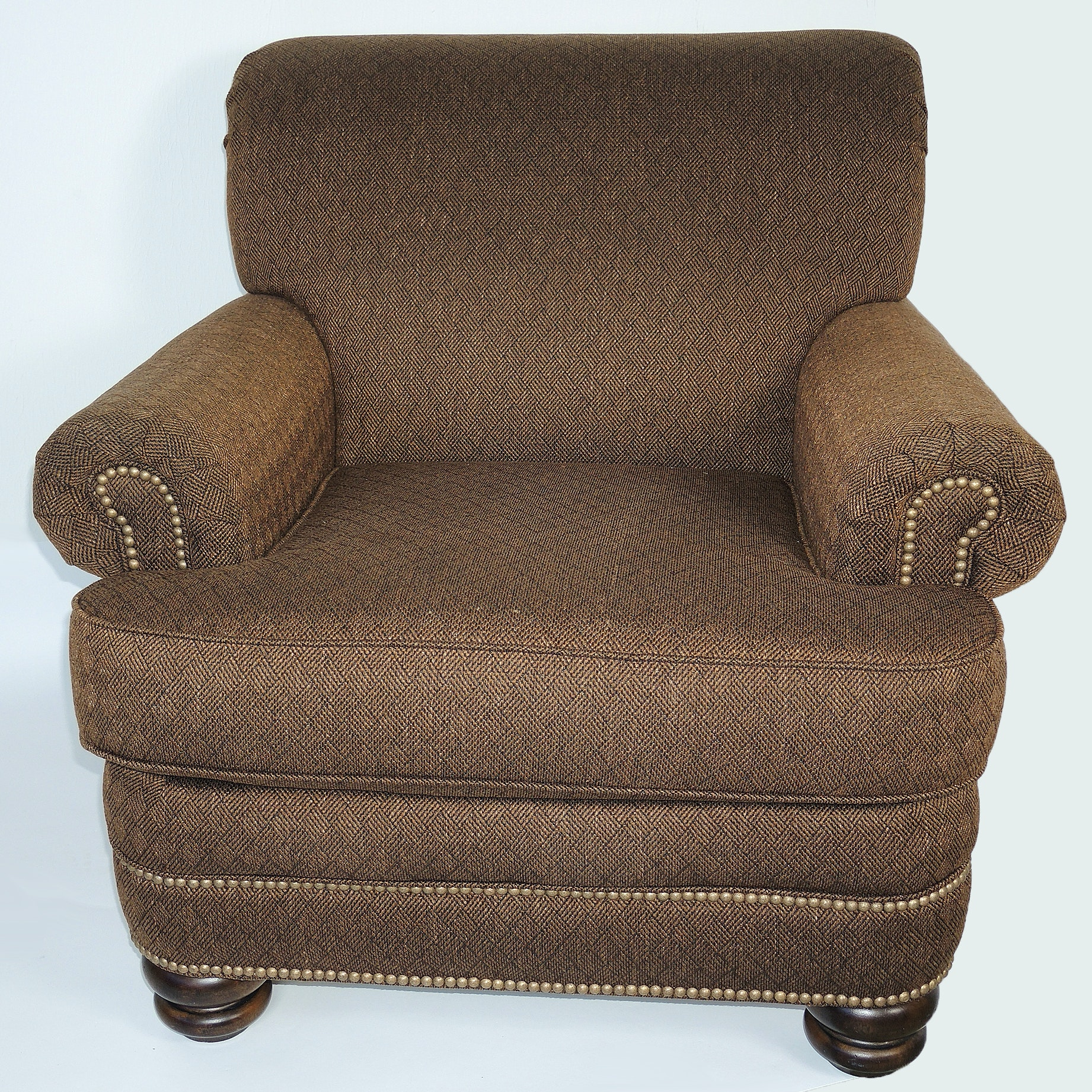 Flexsteel Tweed Arm Chair