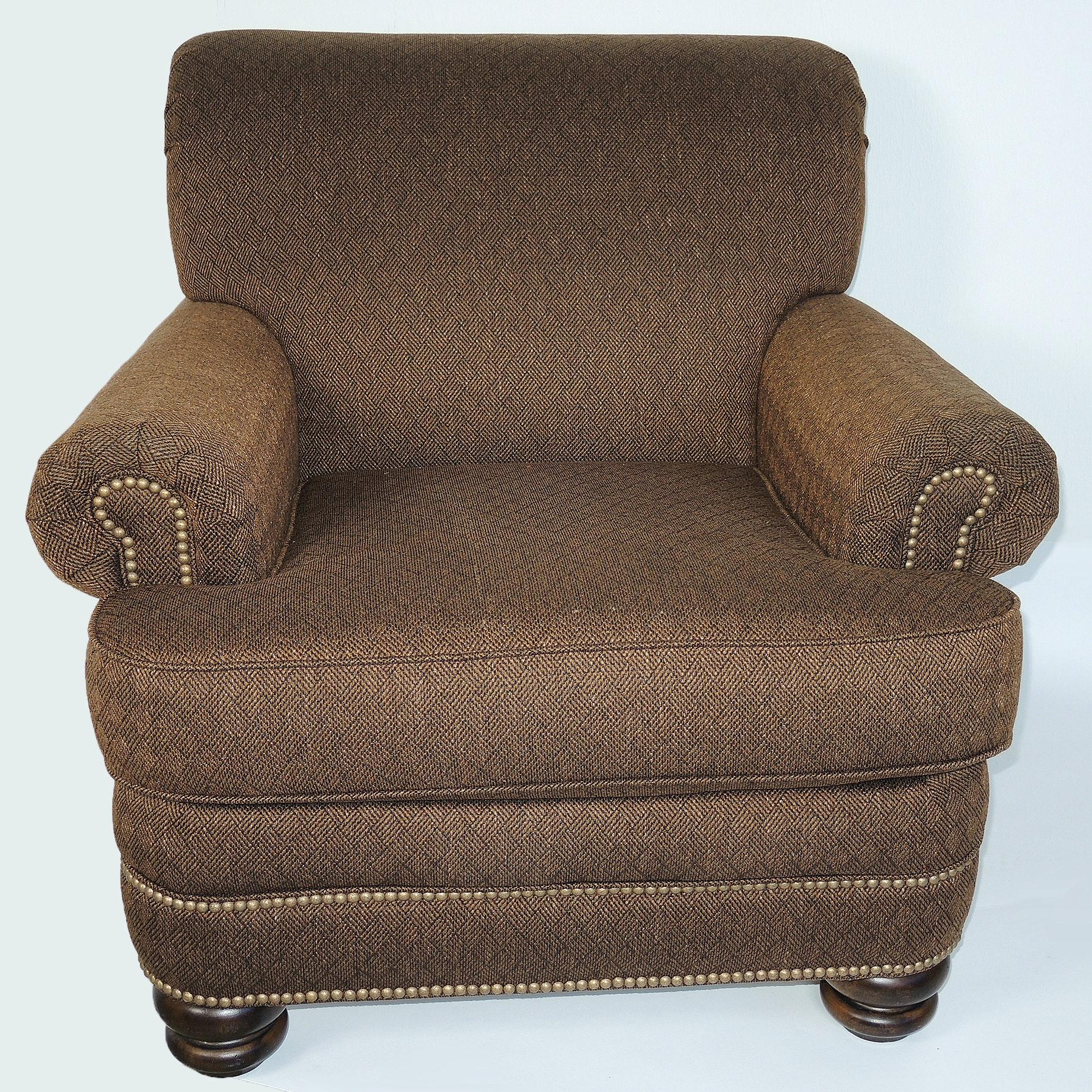 Flexsteel Tweed Arm Chair
