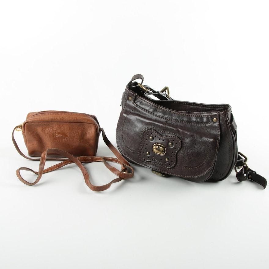 Andrea Mabiani And Longchamp Leather Handbags Ebth 67ec04158a9a8