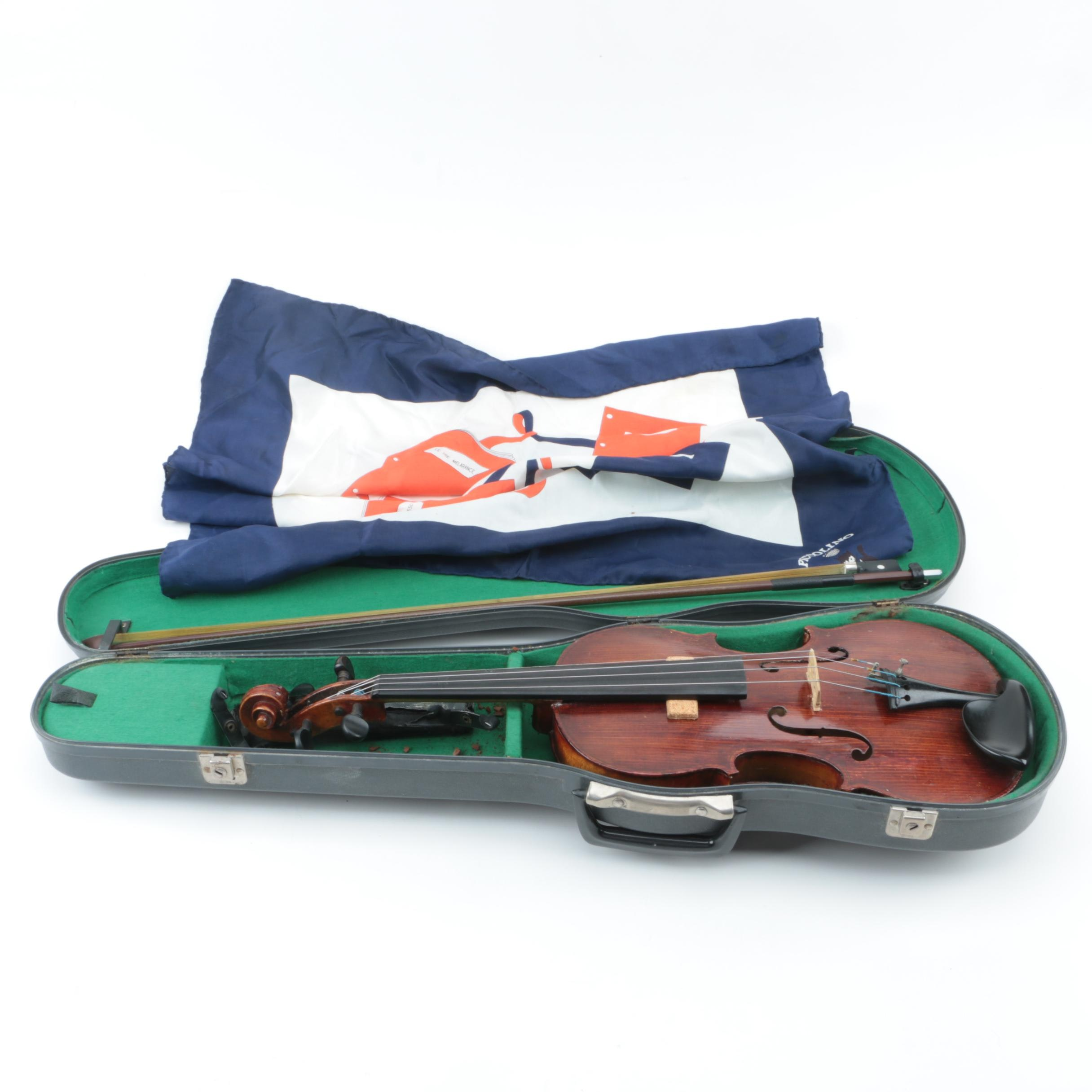 Antique George Hamburg Violin Outfit