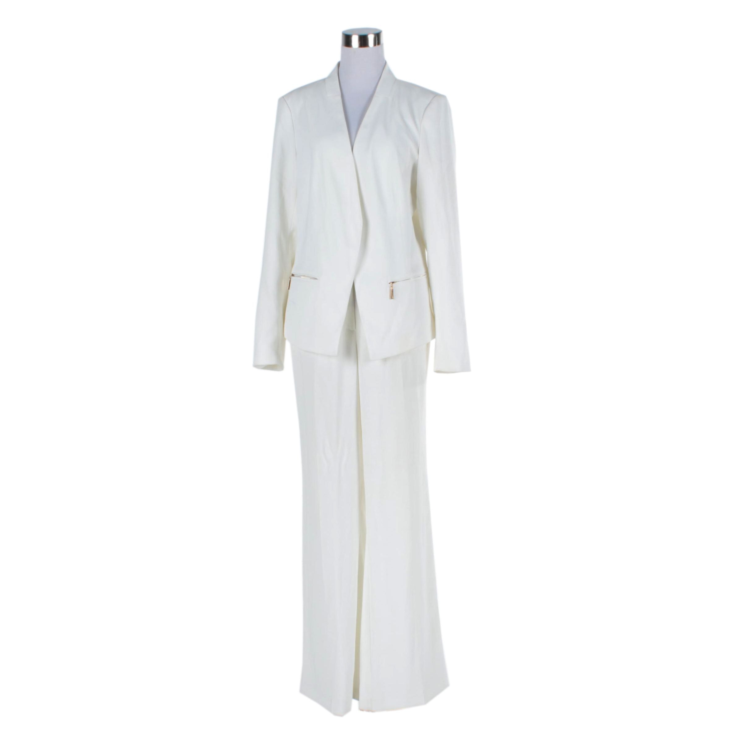 Ivanka Trump Off-White Pantsuit