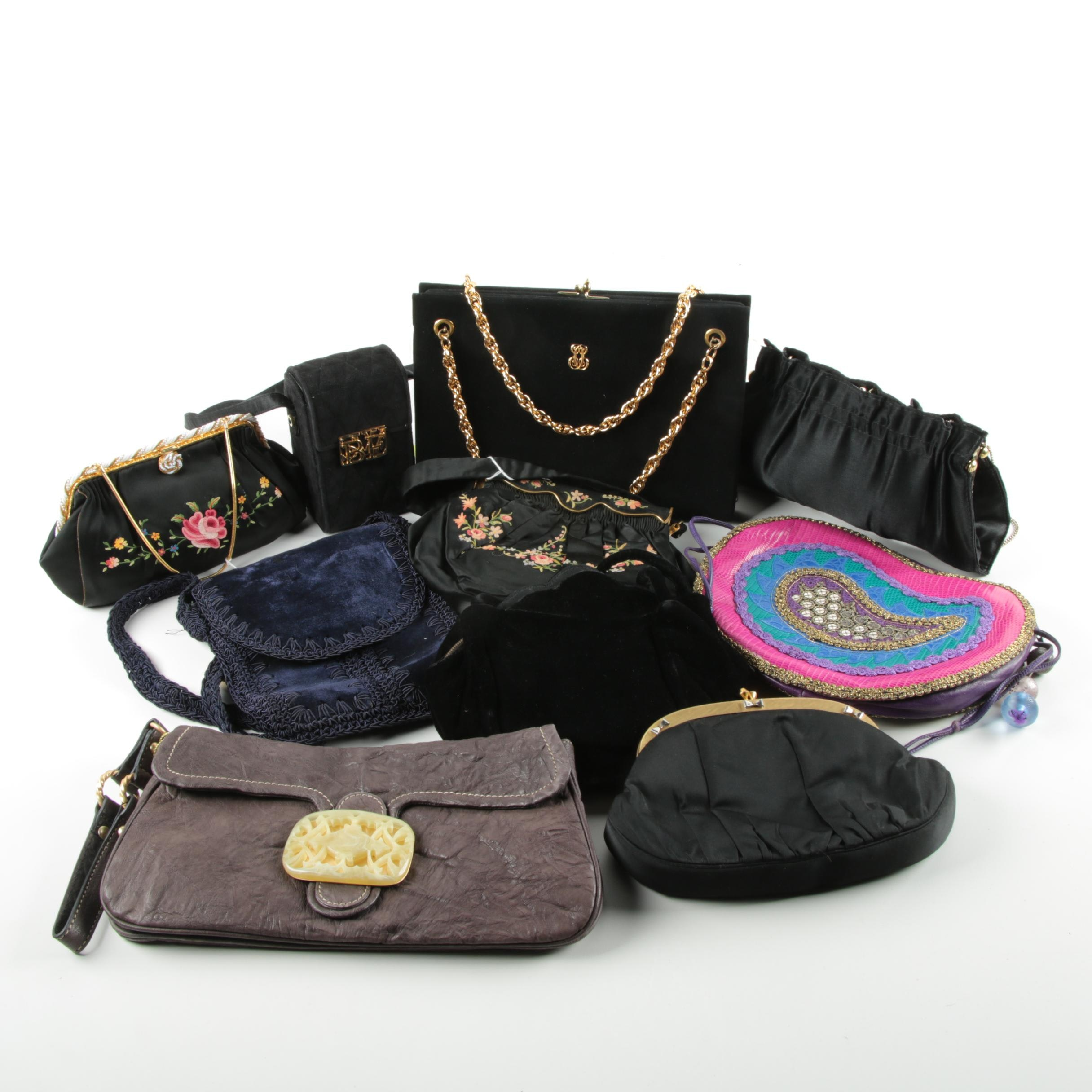 Women's Beaded and Embellished Purses Including Tracy Reese New York and Vintage