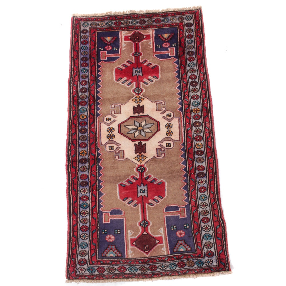 3' x 5' Semi-Antique Hand-Knotted Northwest Persian Rug