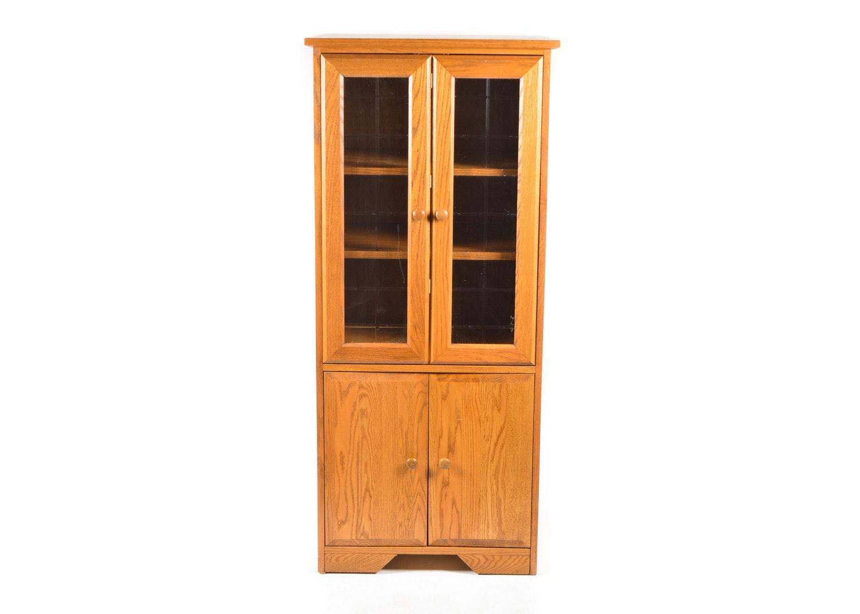 Oak Media Cabinet by Baker Road