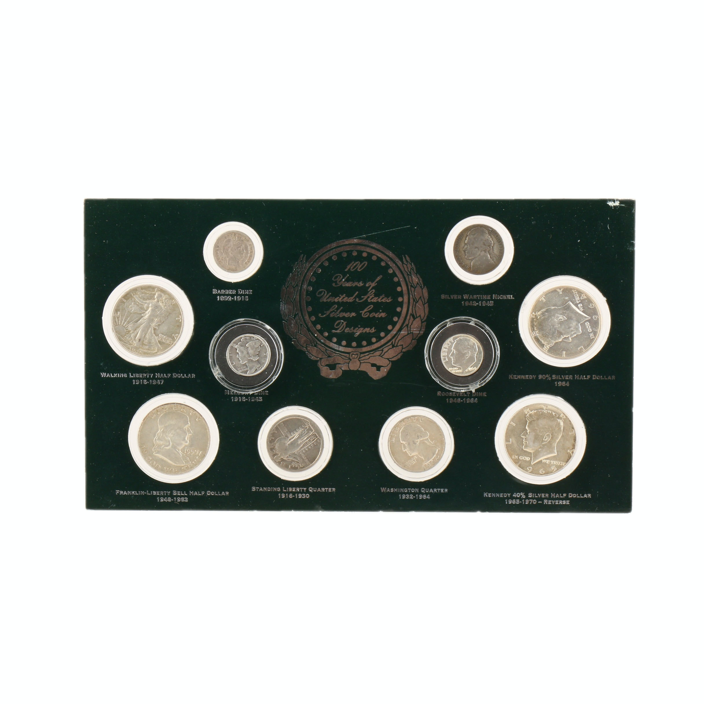 """""""100 Years of United States Silver Coinage"""" Coin Set"""