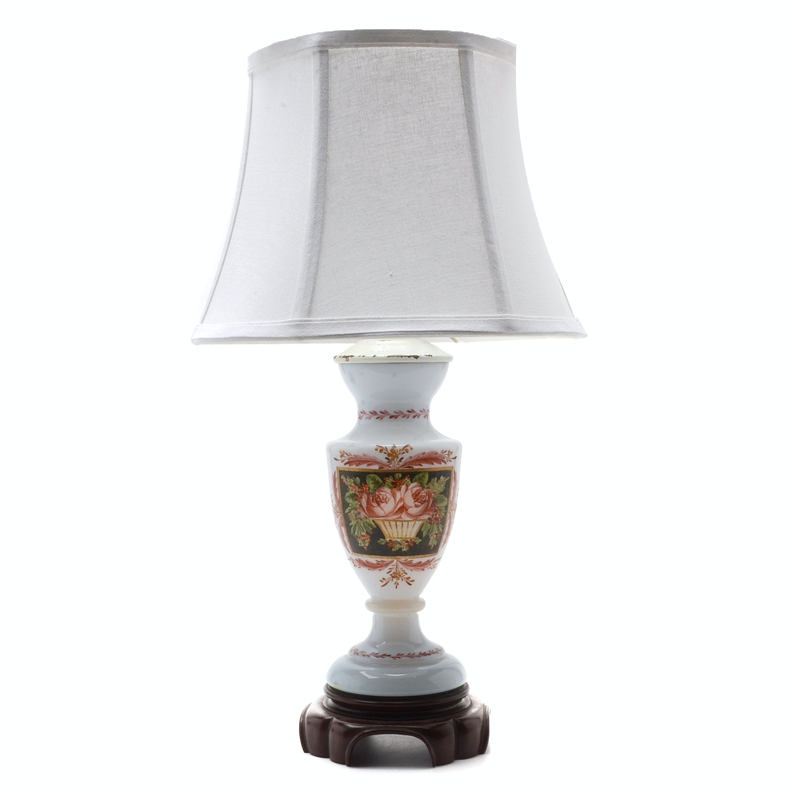 Hand Decorated Lamp