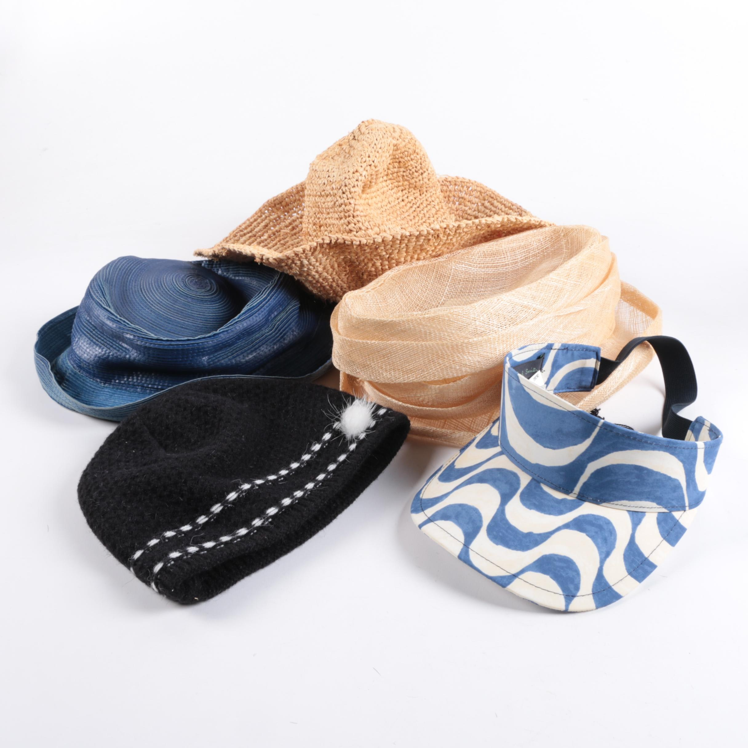 Women's Hat Assortment with Vintage