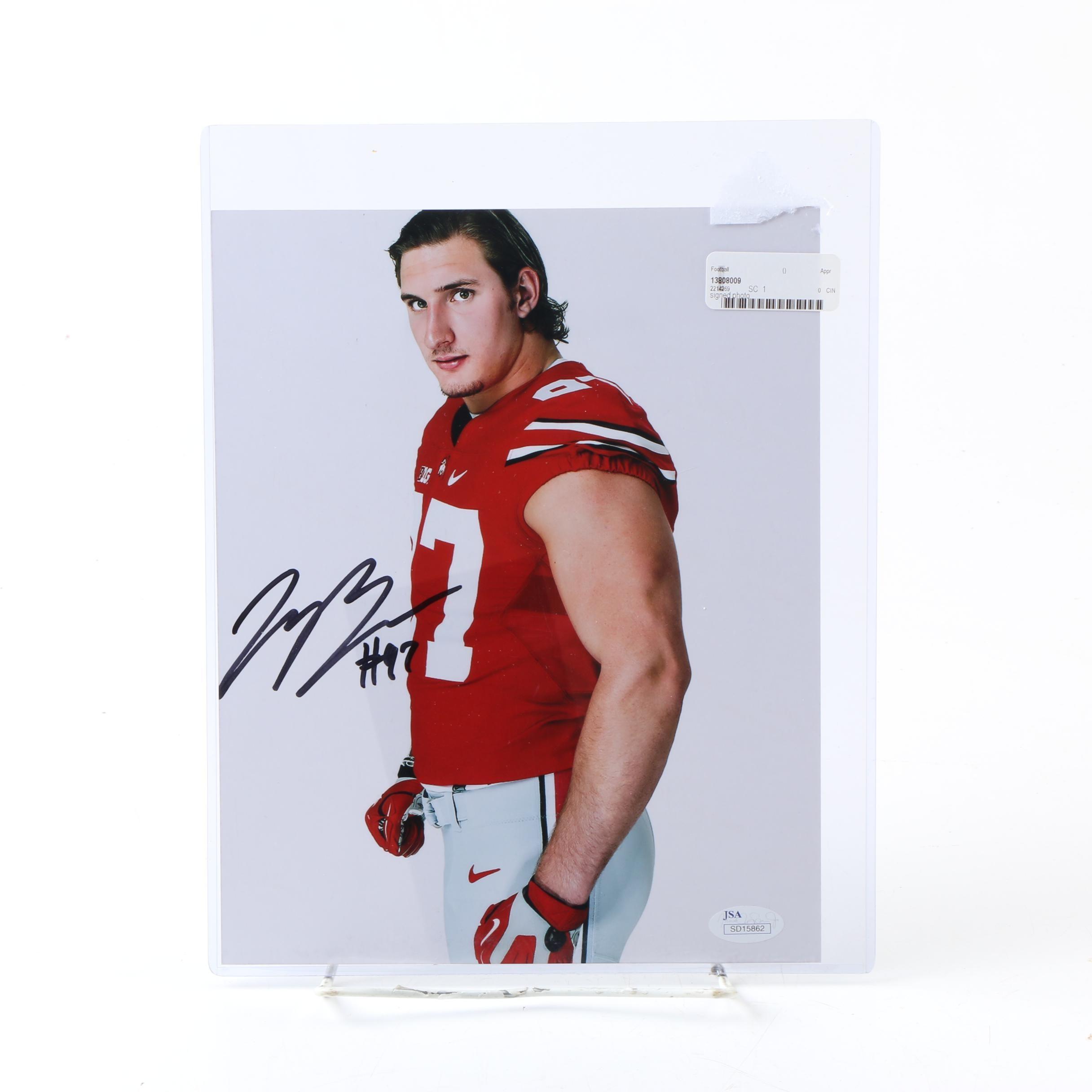 Joey Bosa Autographed Ohio State Photo - JSA COA