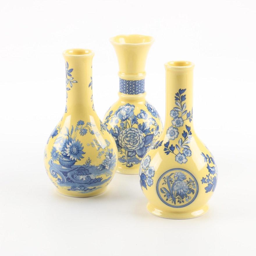 Spode Blue Room Garden Collection Bud Vase Set Ebth