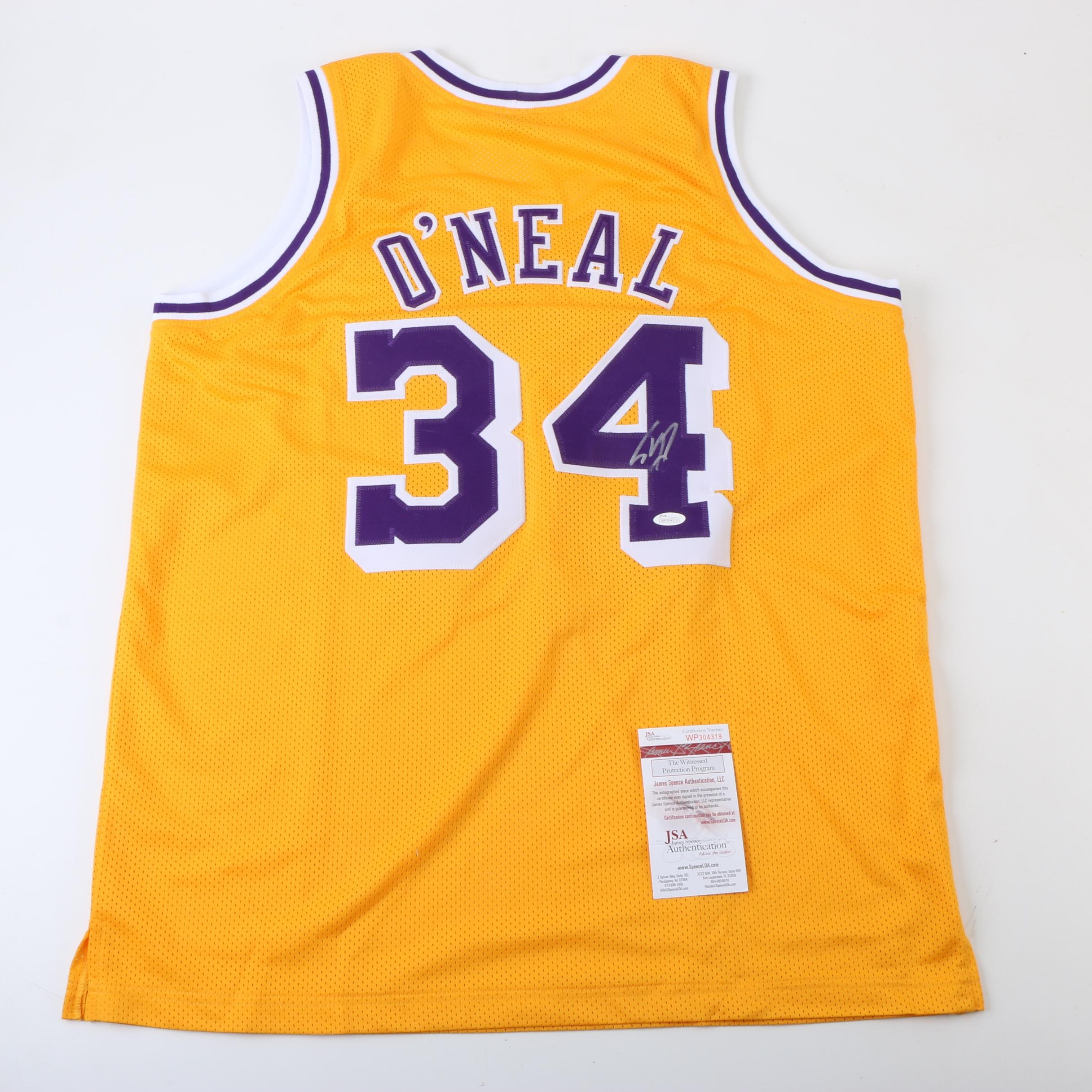 Shaquille O'Neal Autographed Los Angeles Lakers Jersey - JSA COA
