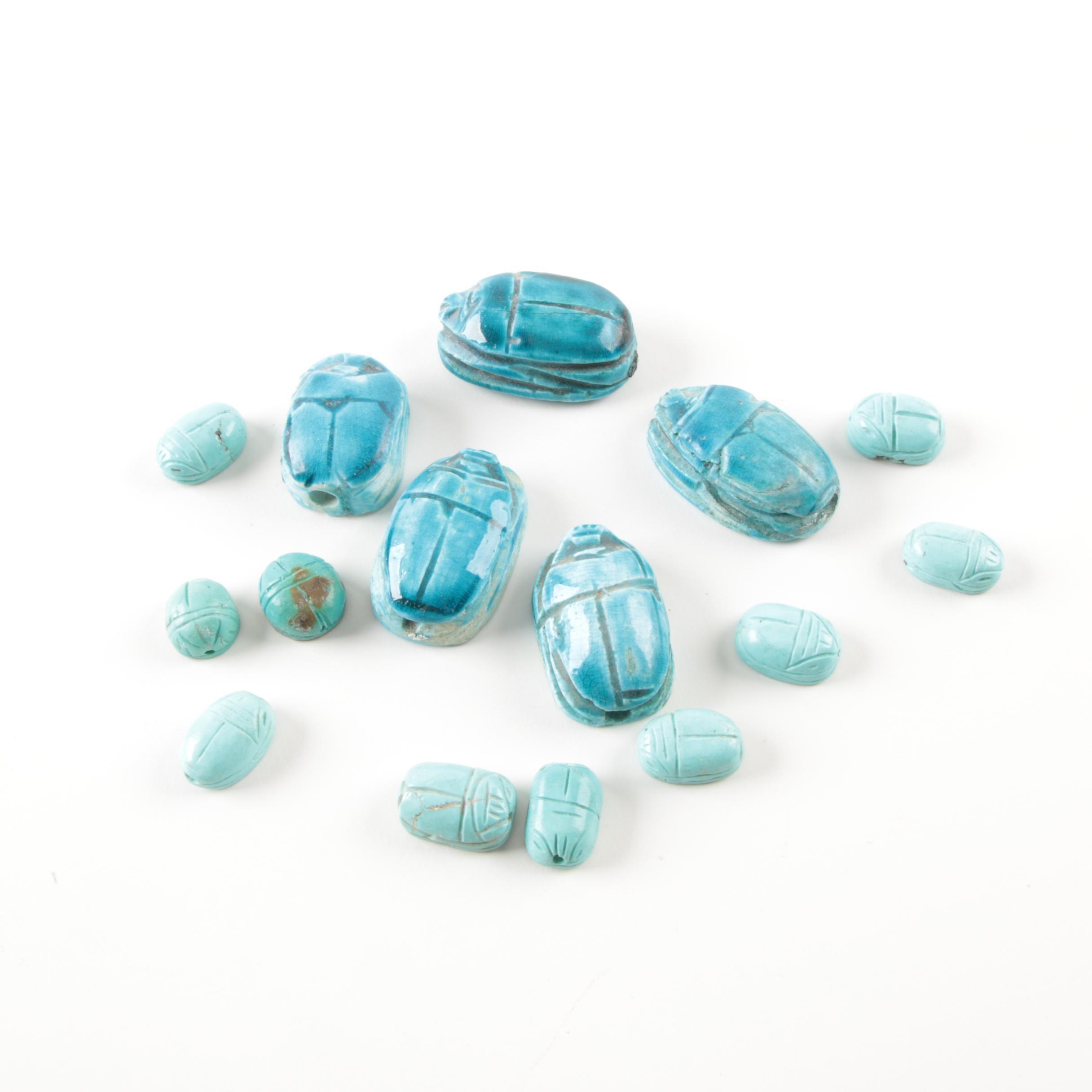 Scarab Beads