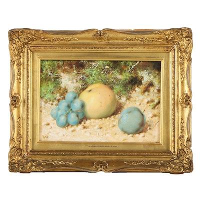 William Cruickshank Watercolor and Gouache Still Life