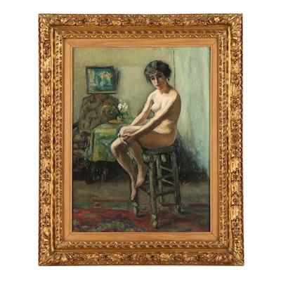 Jean Laurent Challié Oil Painting