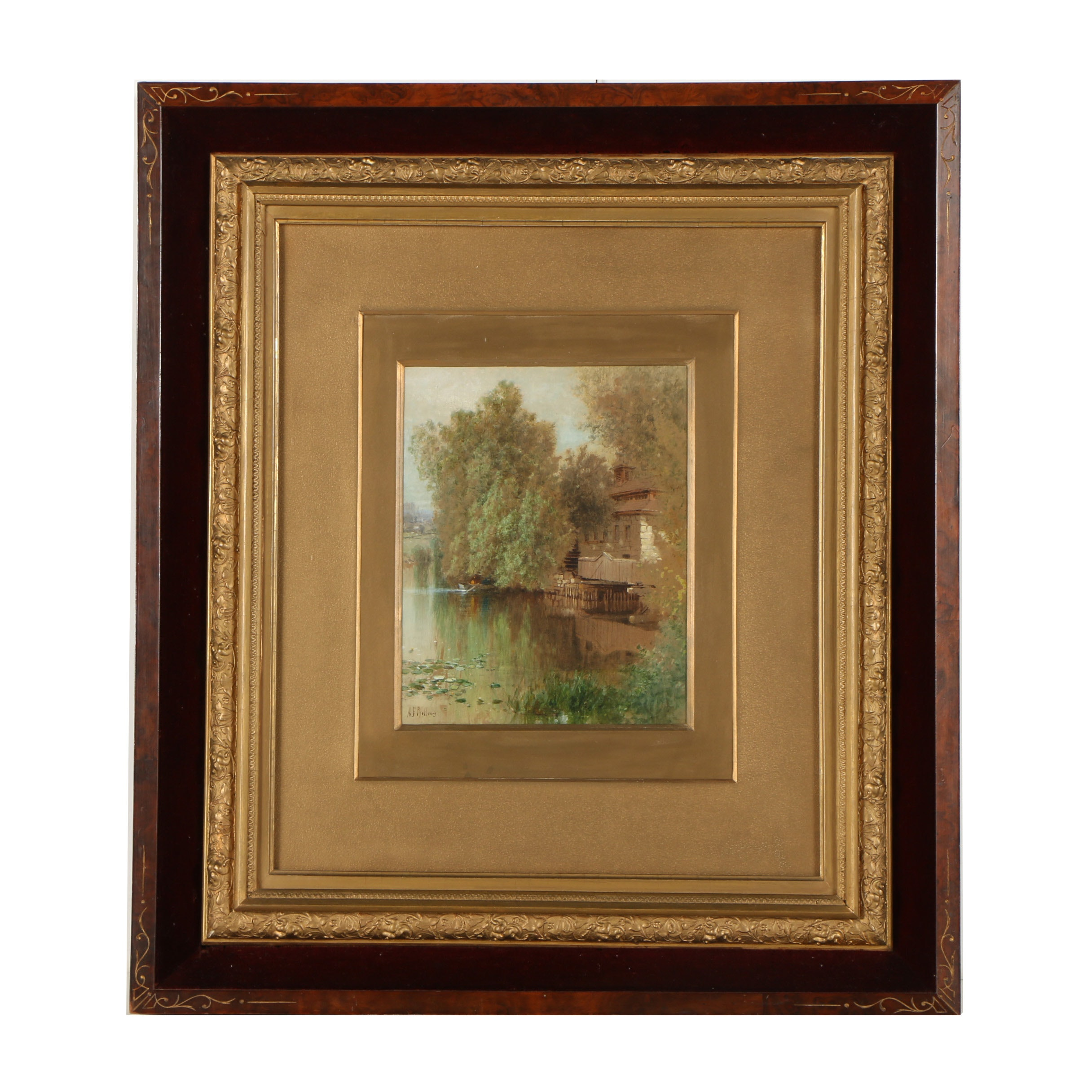 Albert Fitch Bellows Watercolor Painting