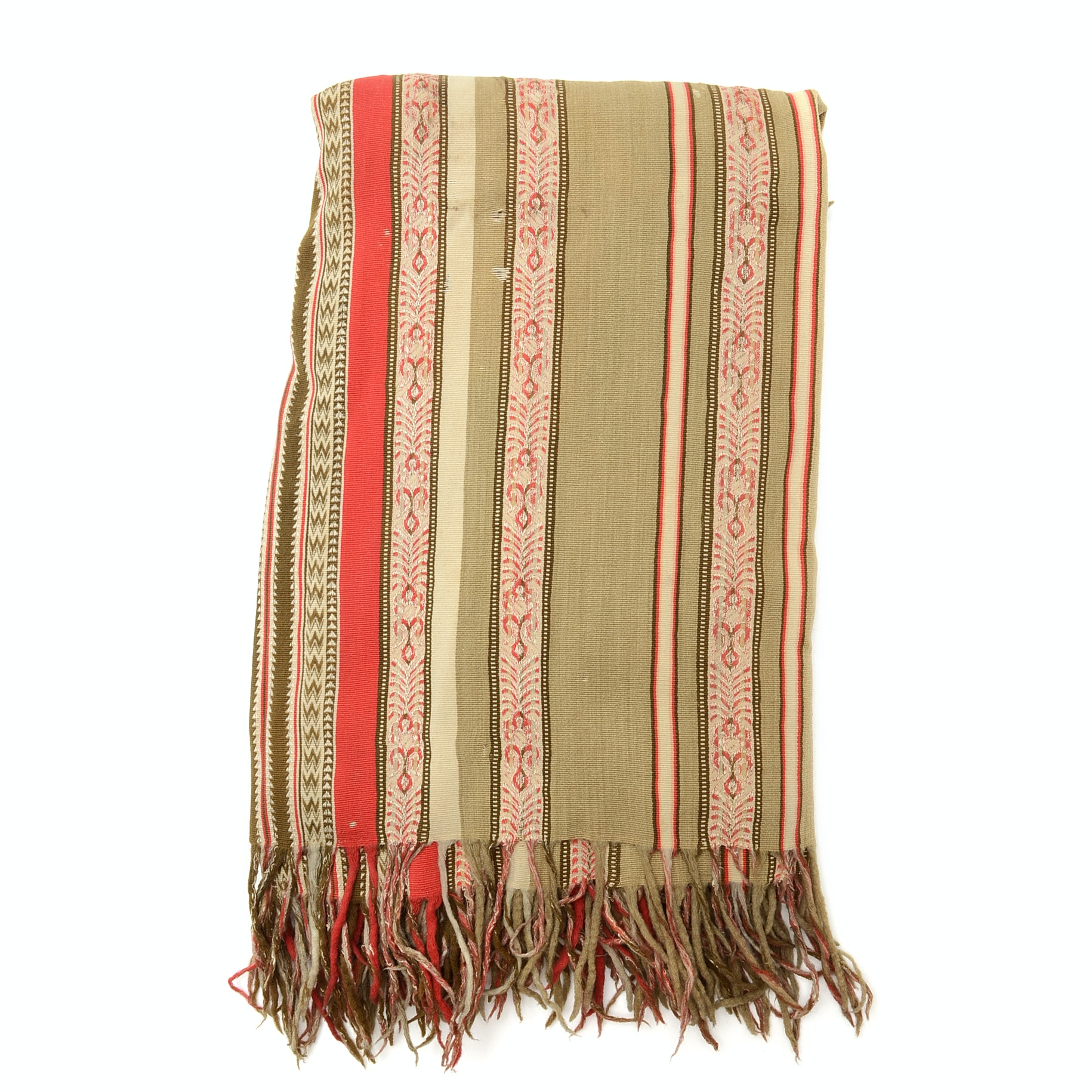 Woven Wool Blend Textile