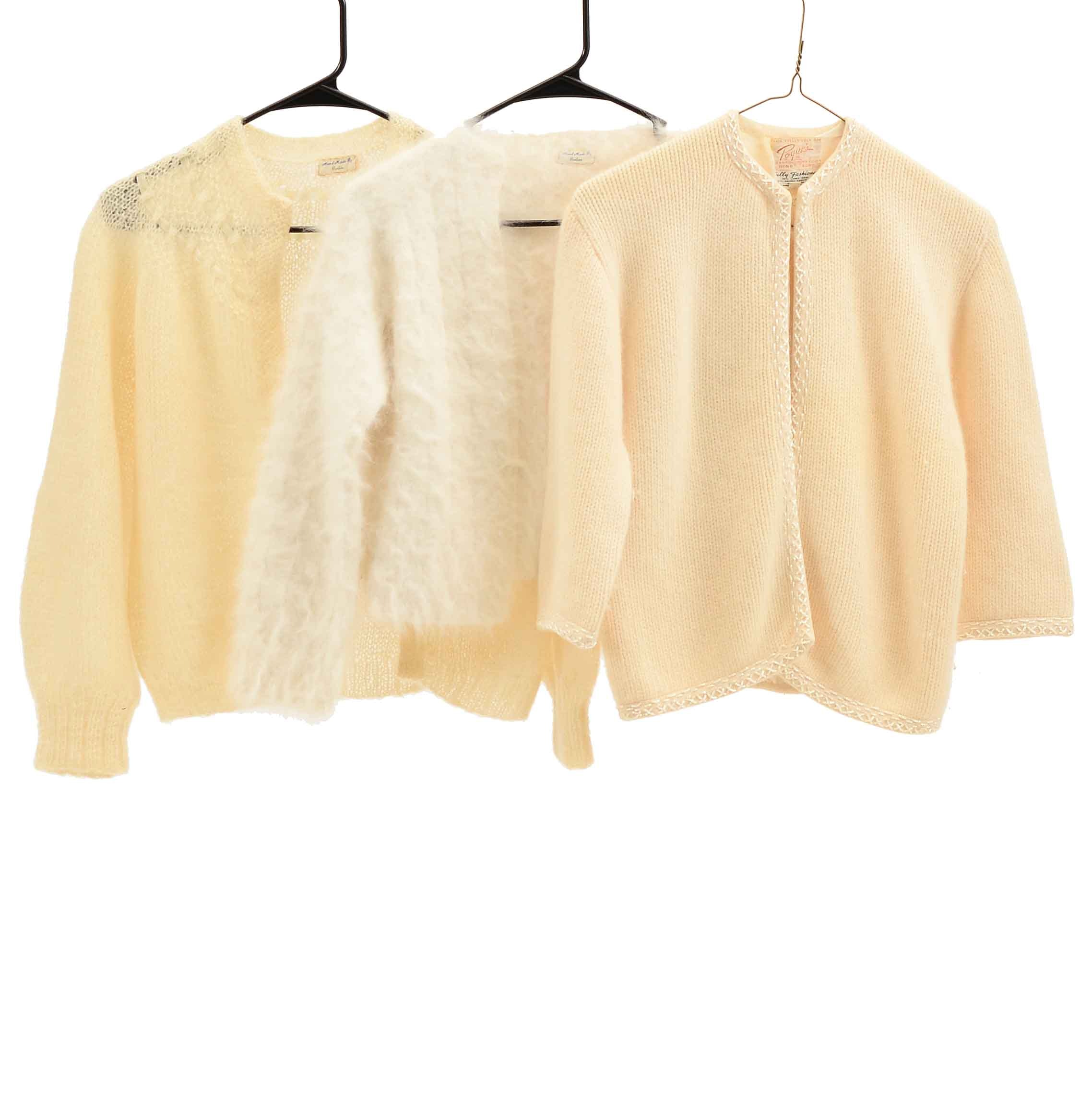 Vintage Off-White Knit Sweaters