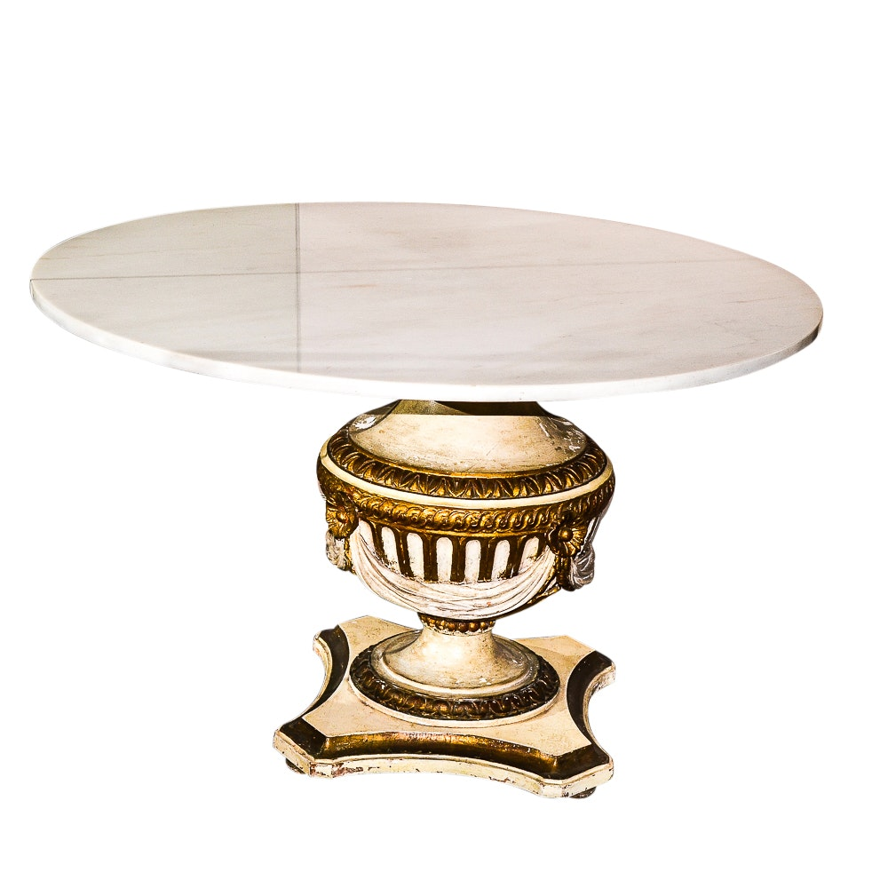 Vintage Neoclassical Style Table