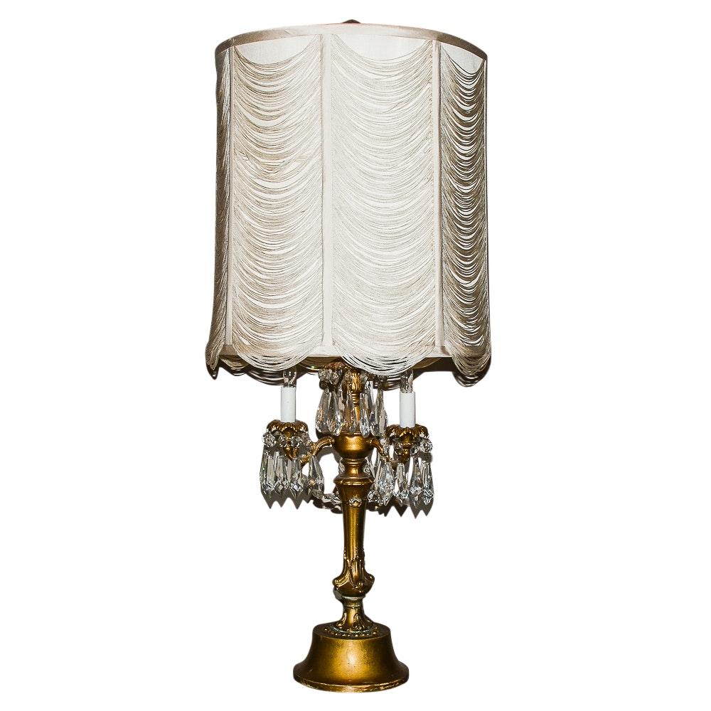 Vintage Hollywood Regency Table Lamp