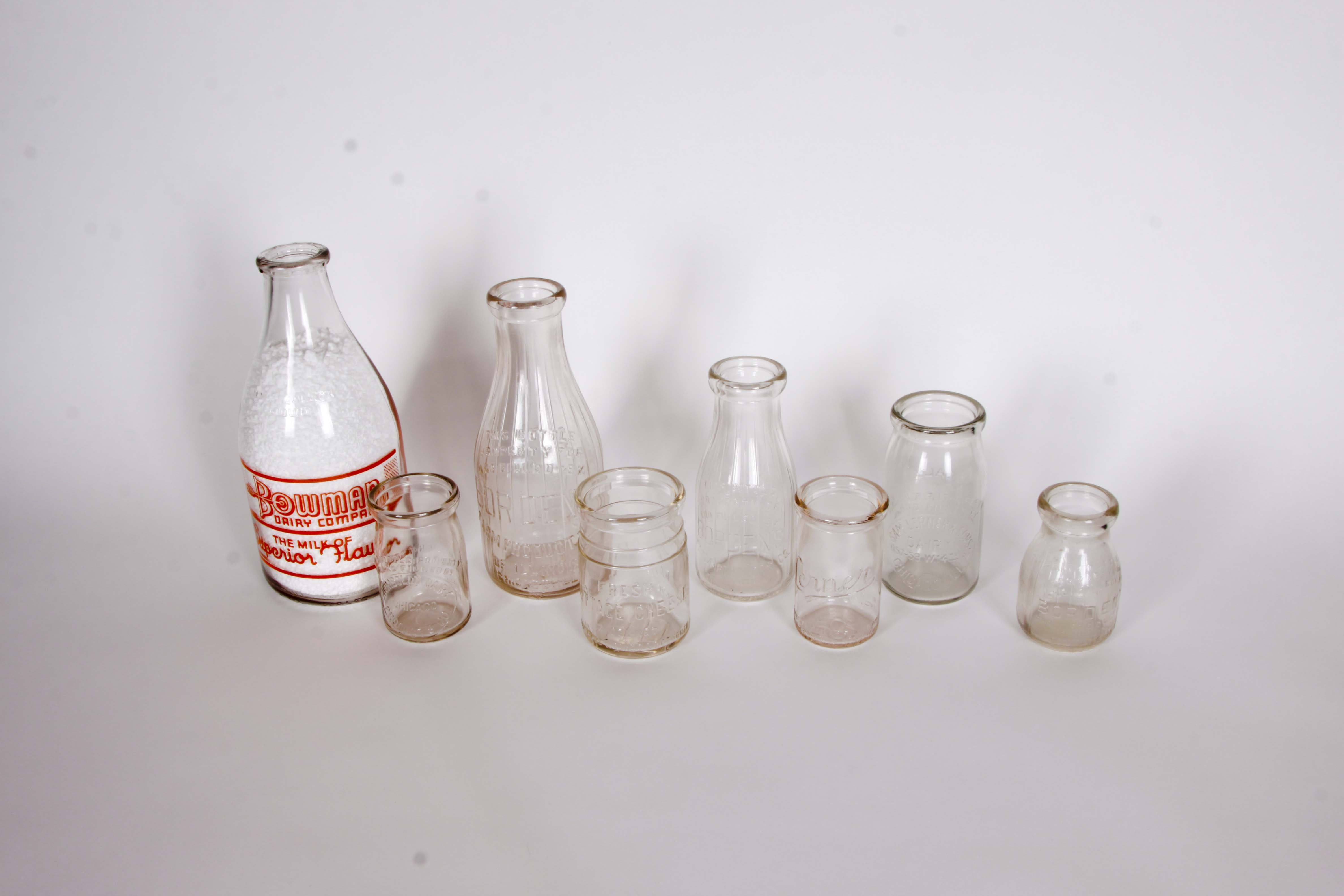 Milk Bottles from Chicago Illinois
