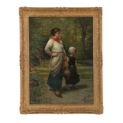 Pierre Billet Oil Painting