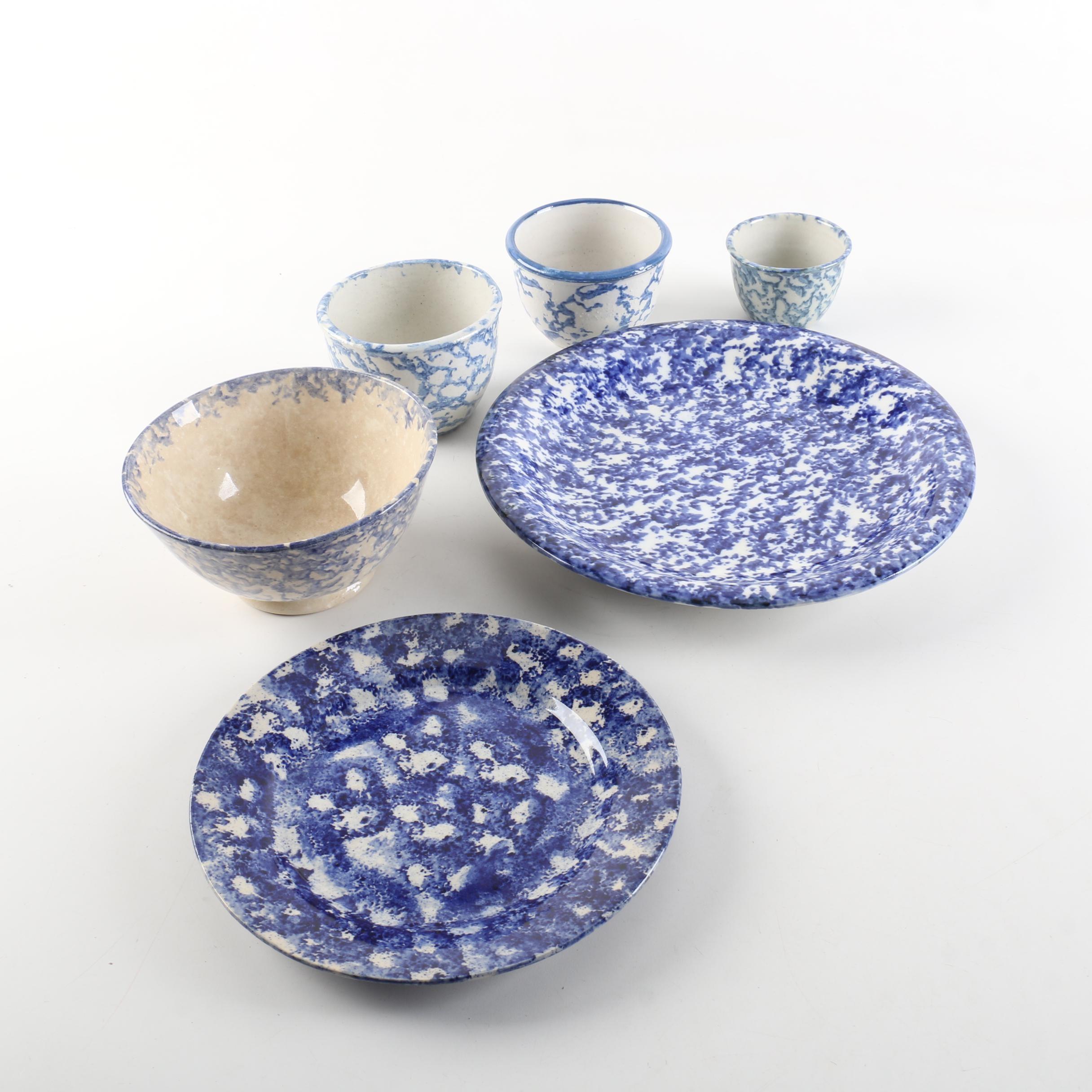 Bybee Style Spongeware Tableware