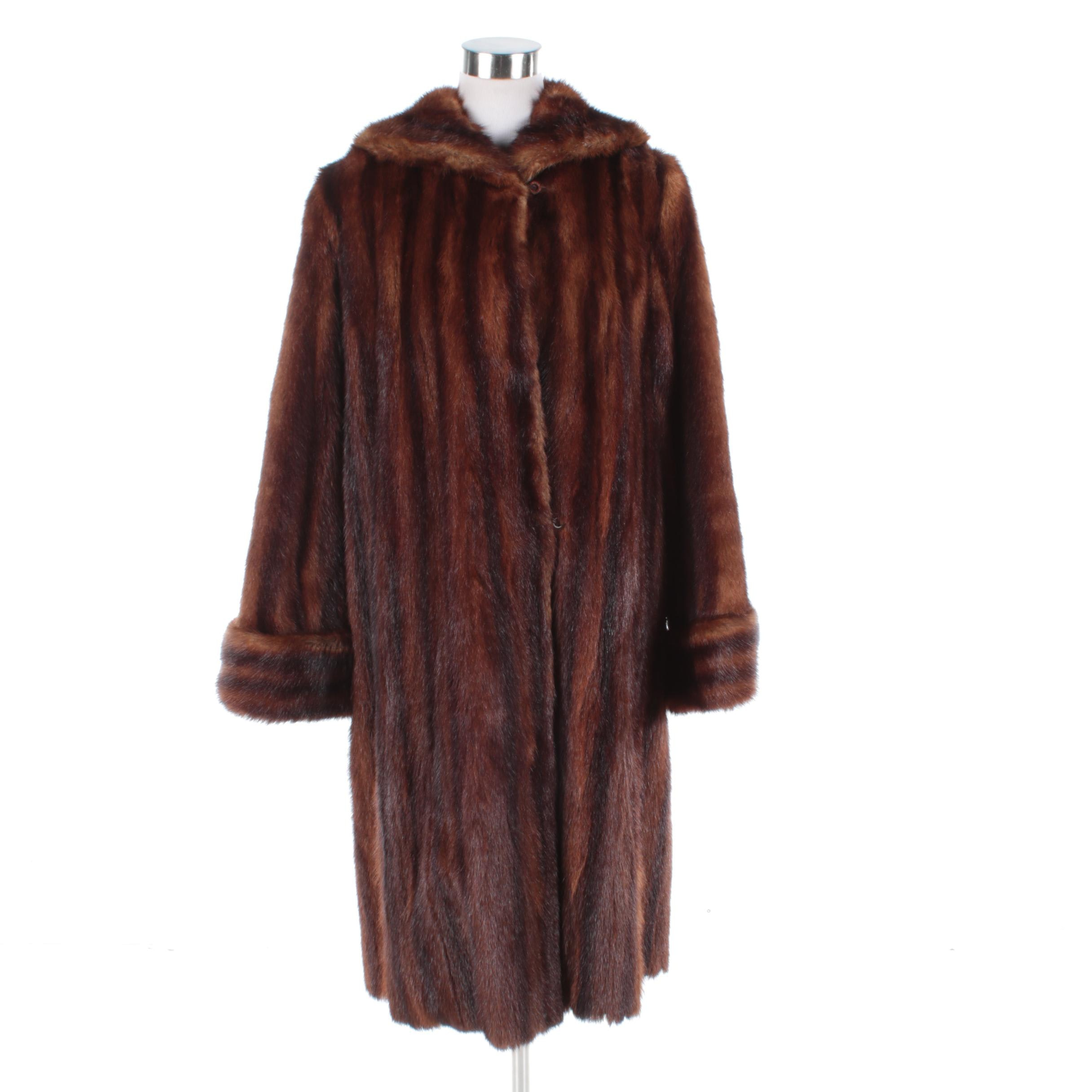 Vintage Marten Fur Coat