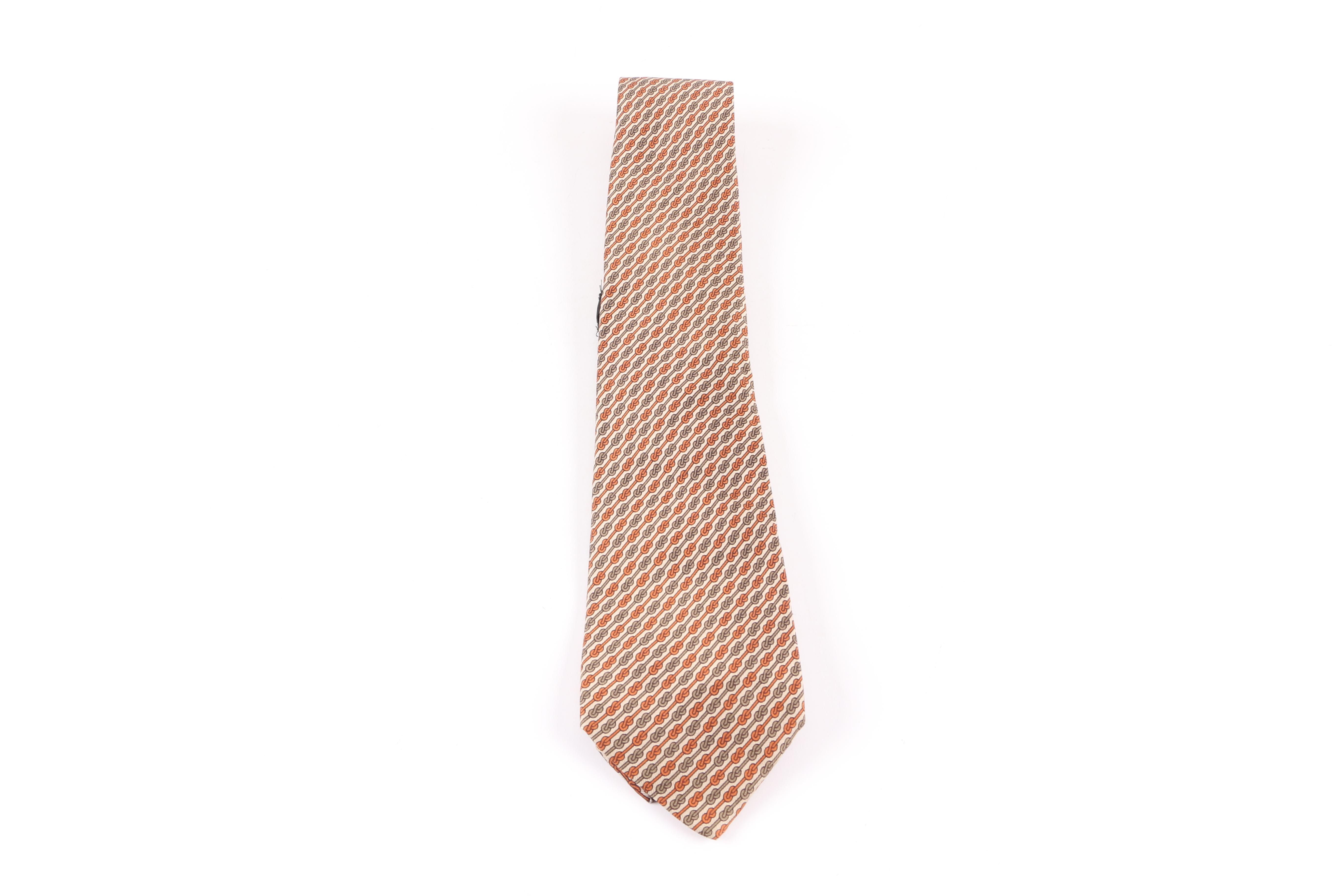 Vintage Gucci Silk Necktie, Made in Italy
