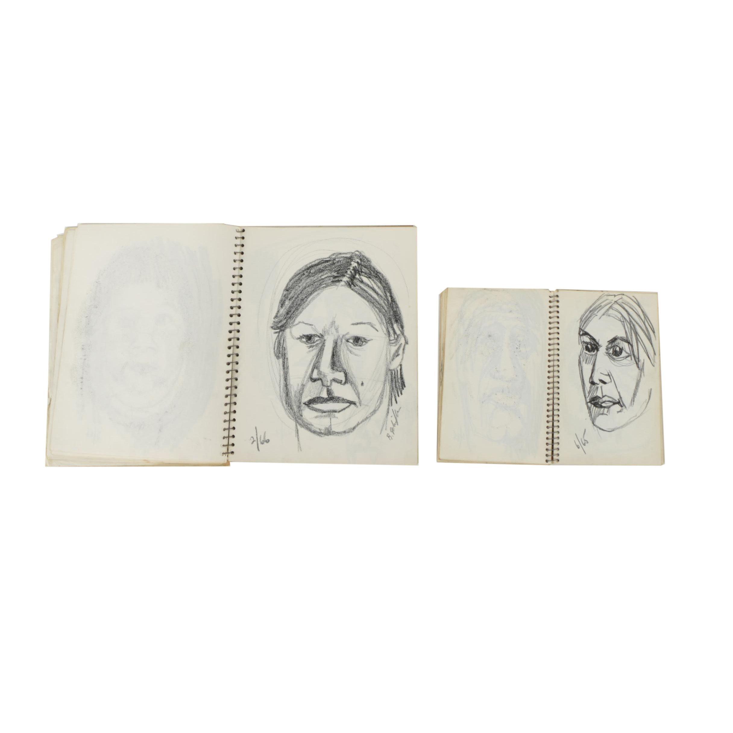 Two Bill Schiffer Sketchbooks