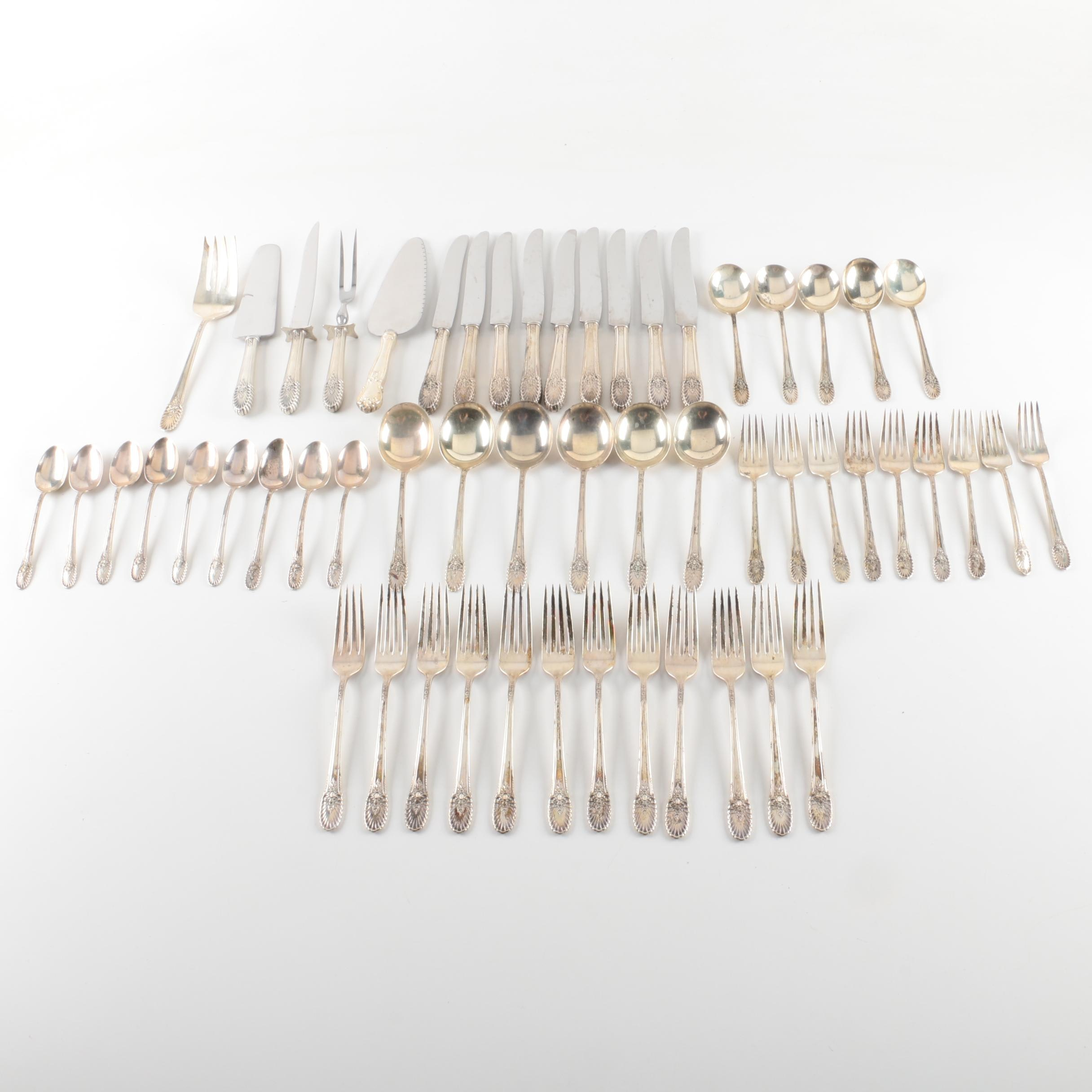 "International Silver Co. ""Riviera"" Sterling Silver Flatware Set"