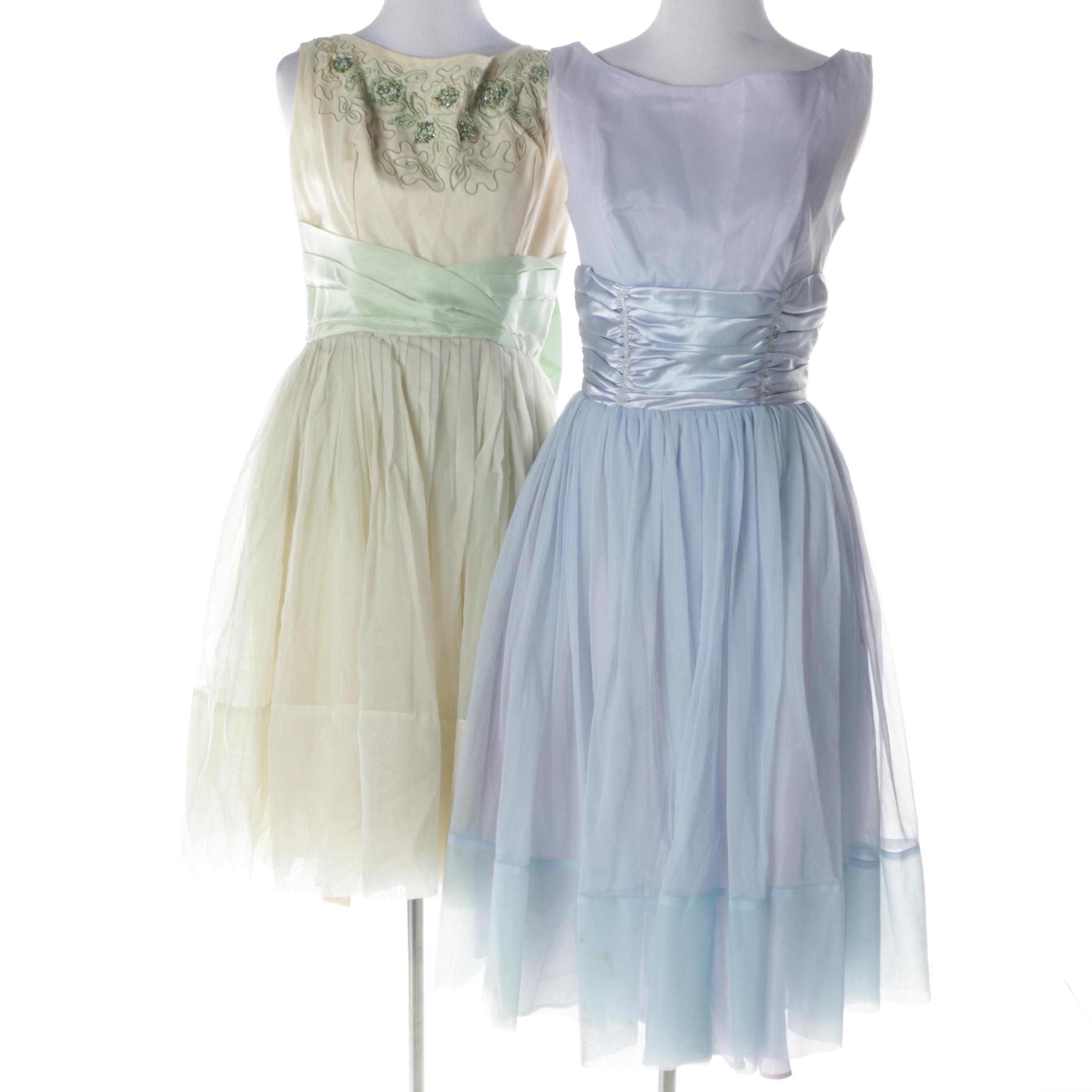 Circa 1950s Vintage Formal Dresses