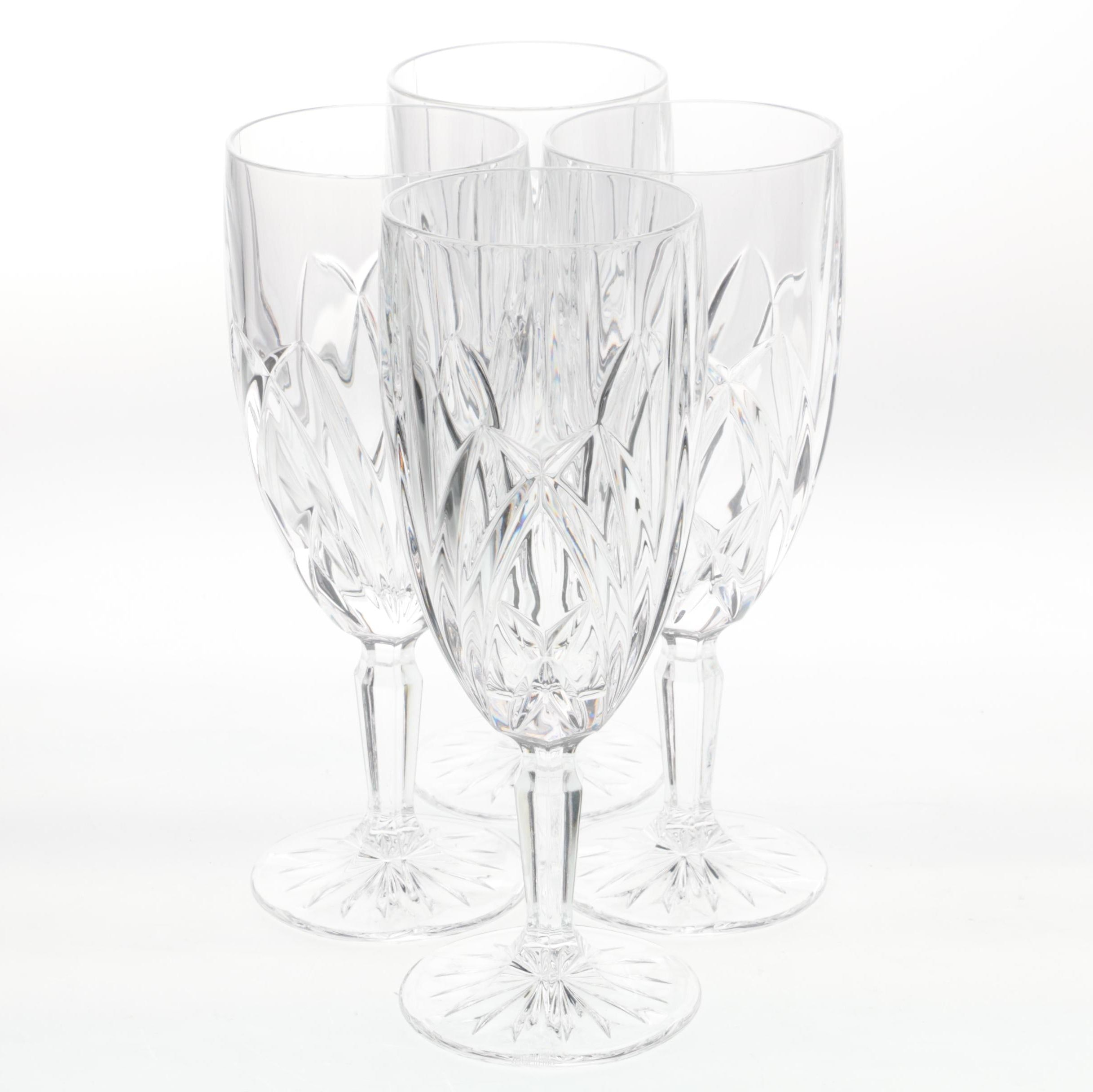 """Marquis by Waterford Crystal """"Brookside"""" Iced Beverage Glasses"""