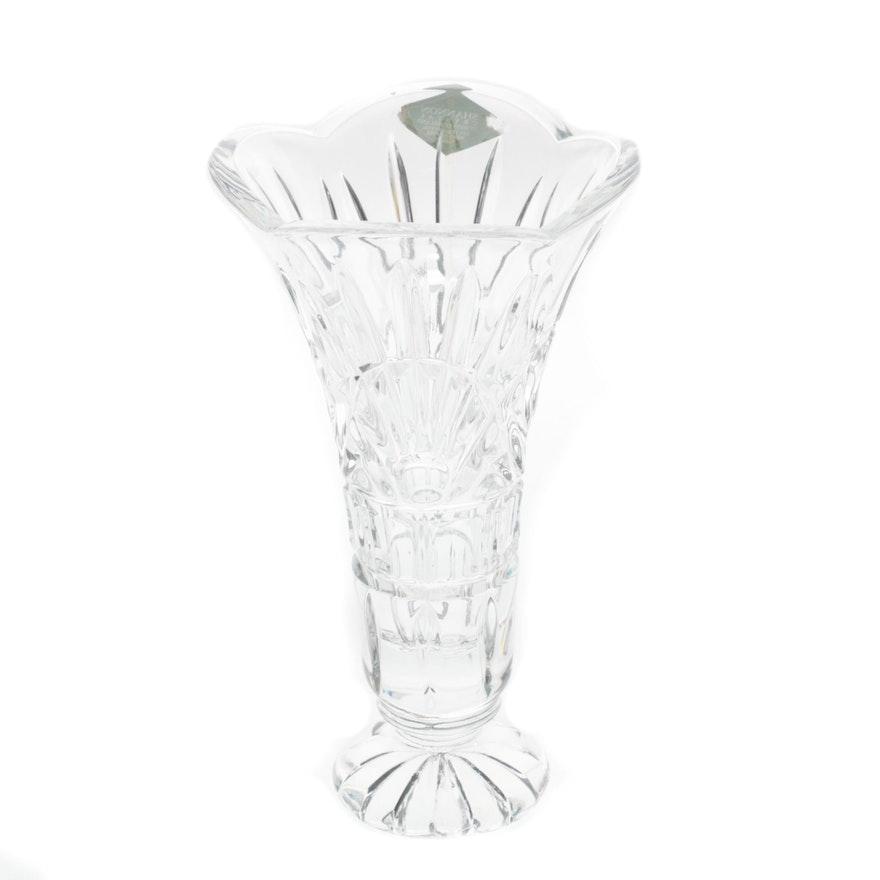 Shannon Crystal Vase Ebth